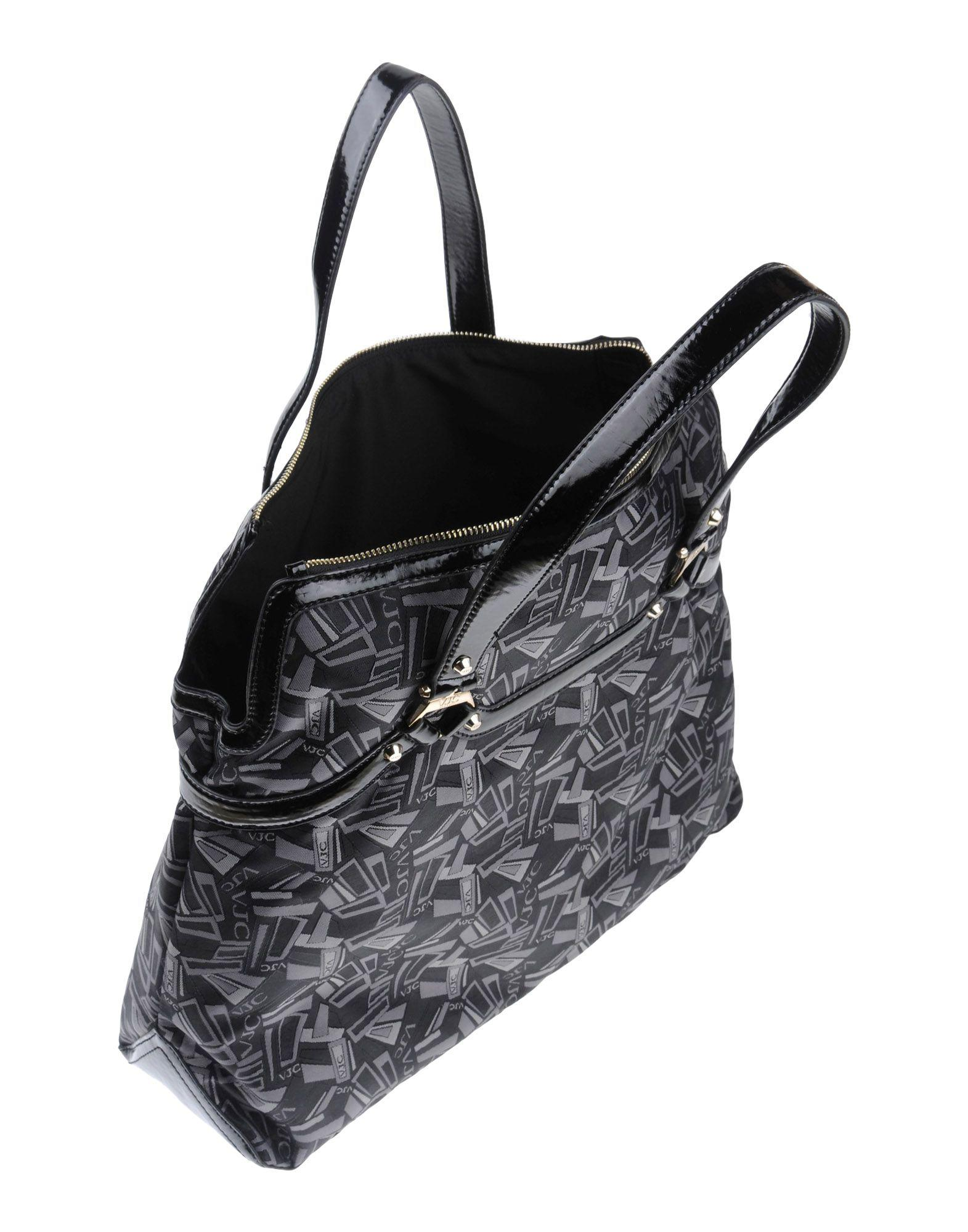 802f1688e7 Versace Jeans Handbag in Black - Lyst
