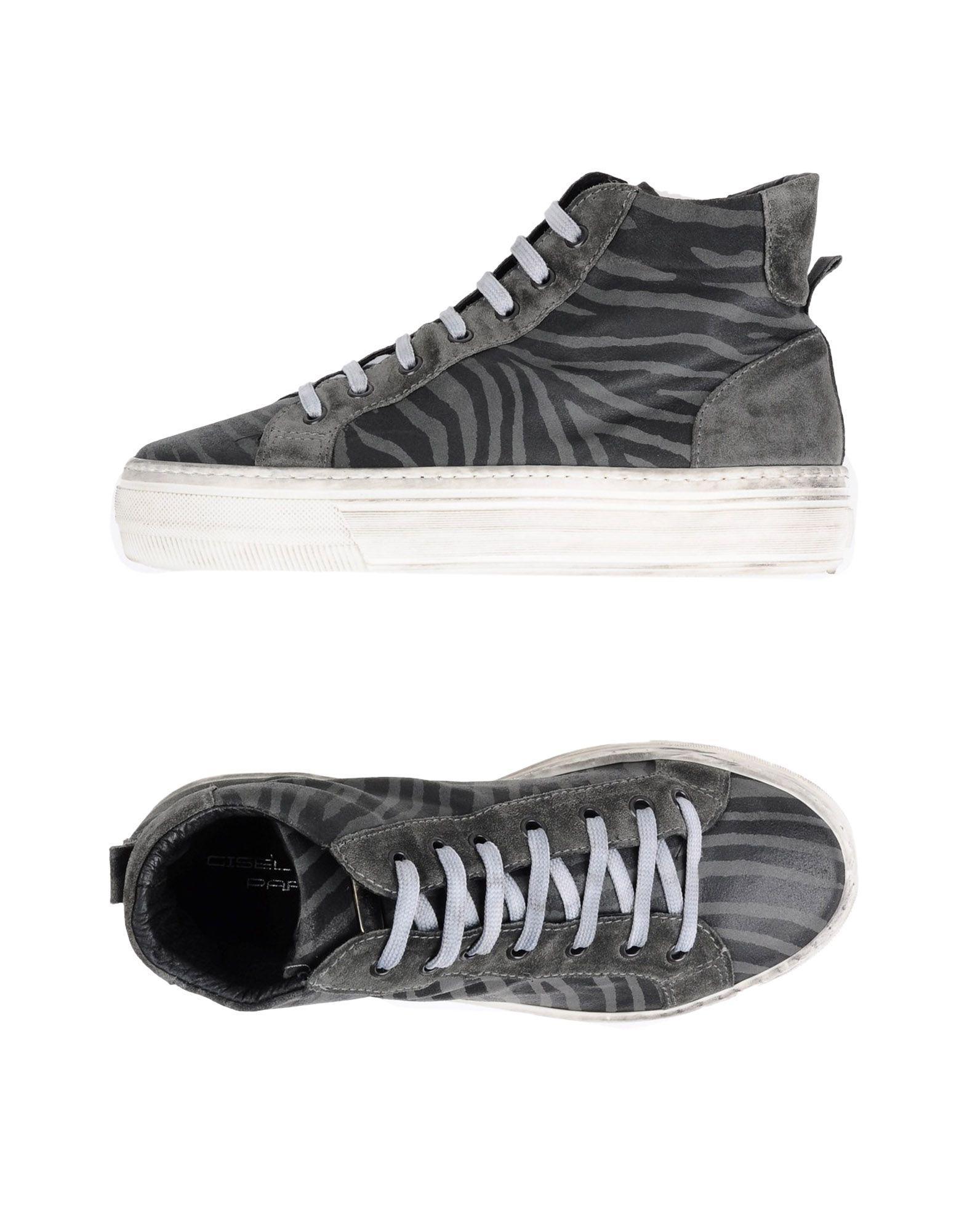 Chaussures - Haute-tops Et Baskets Gisl Paris Moir 6pqaBm