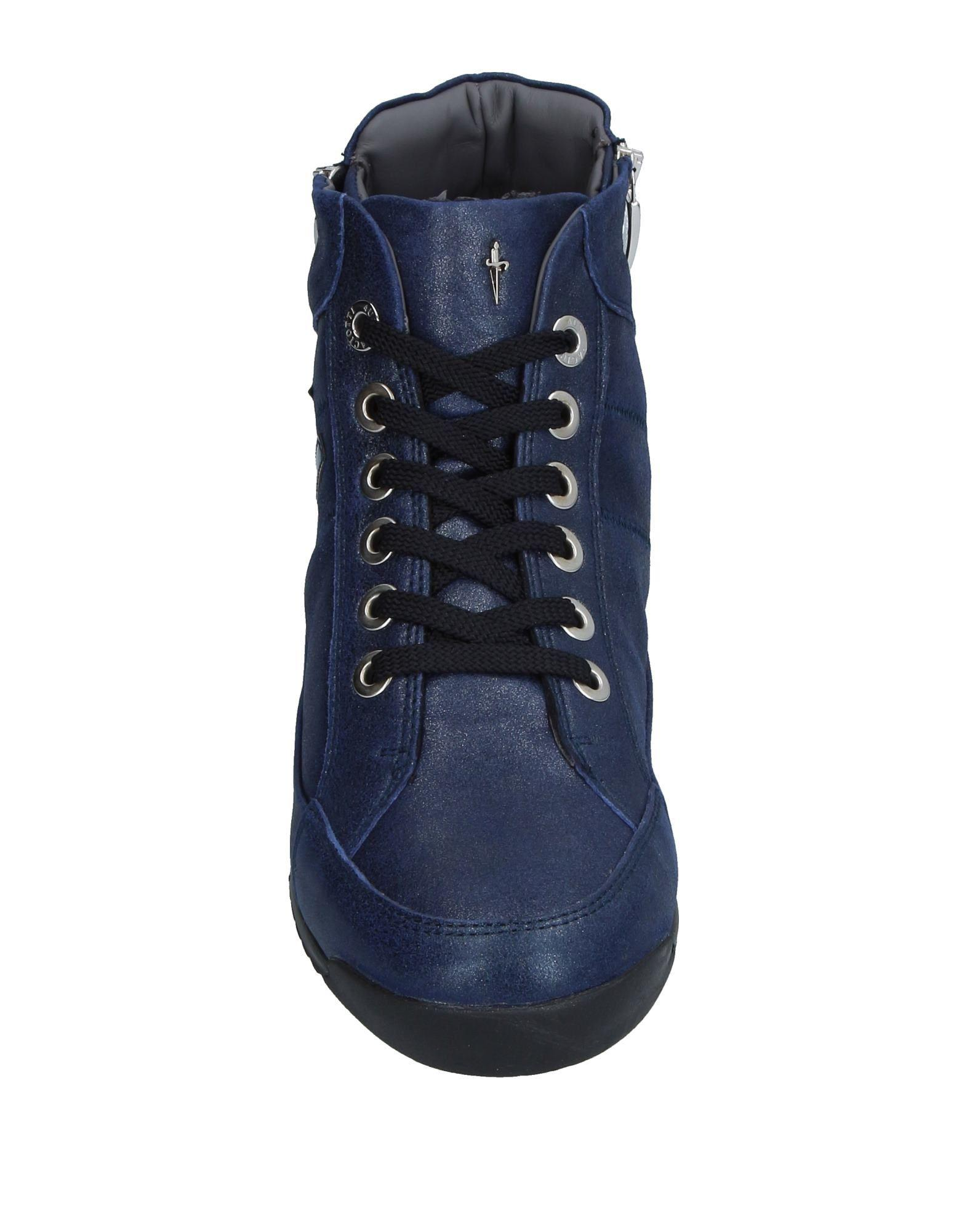 Cesare Paciotti Leather High-tops & Sneakers in Blue