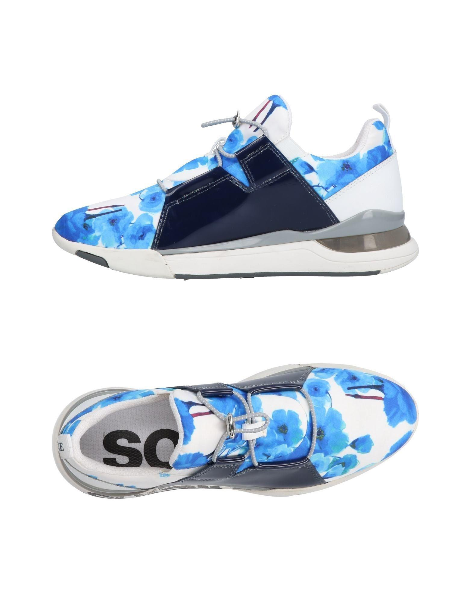 really comfortable official site new images of Soisire Soiebleu Rubber Low-tops & Sneakers in Azure (Blue) - Lyst