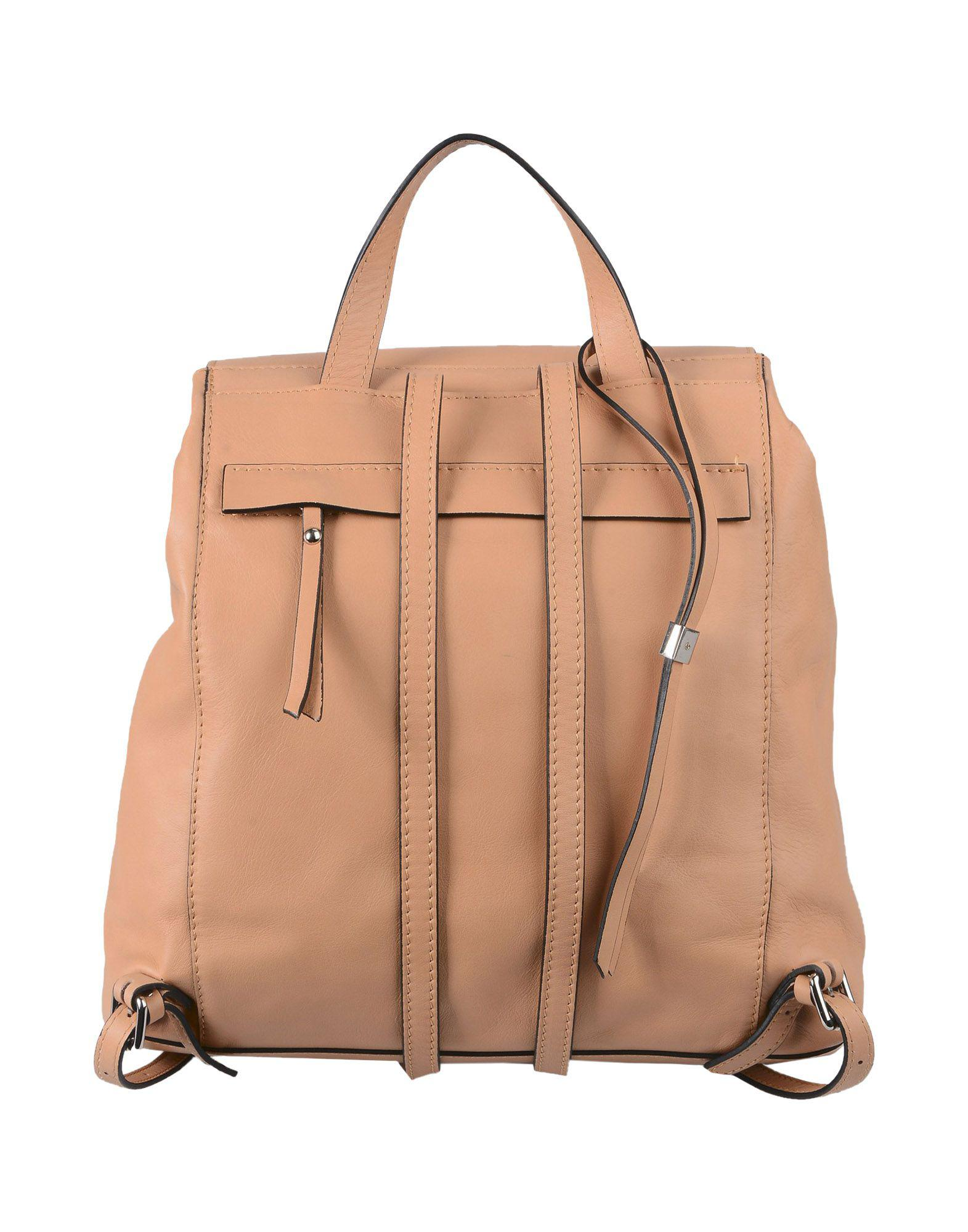 Gianni Chiarini Leather Backpacks & Fanny Packs in Camel (Natural)