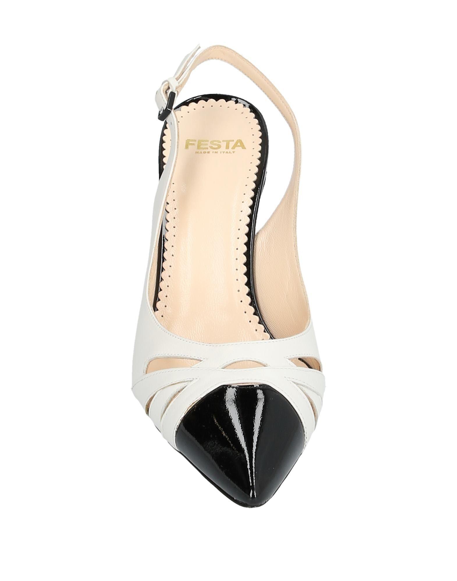 Zapatos de salón Cesare Paciotti de color Blanco