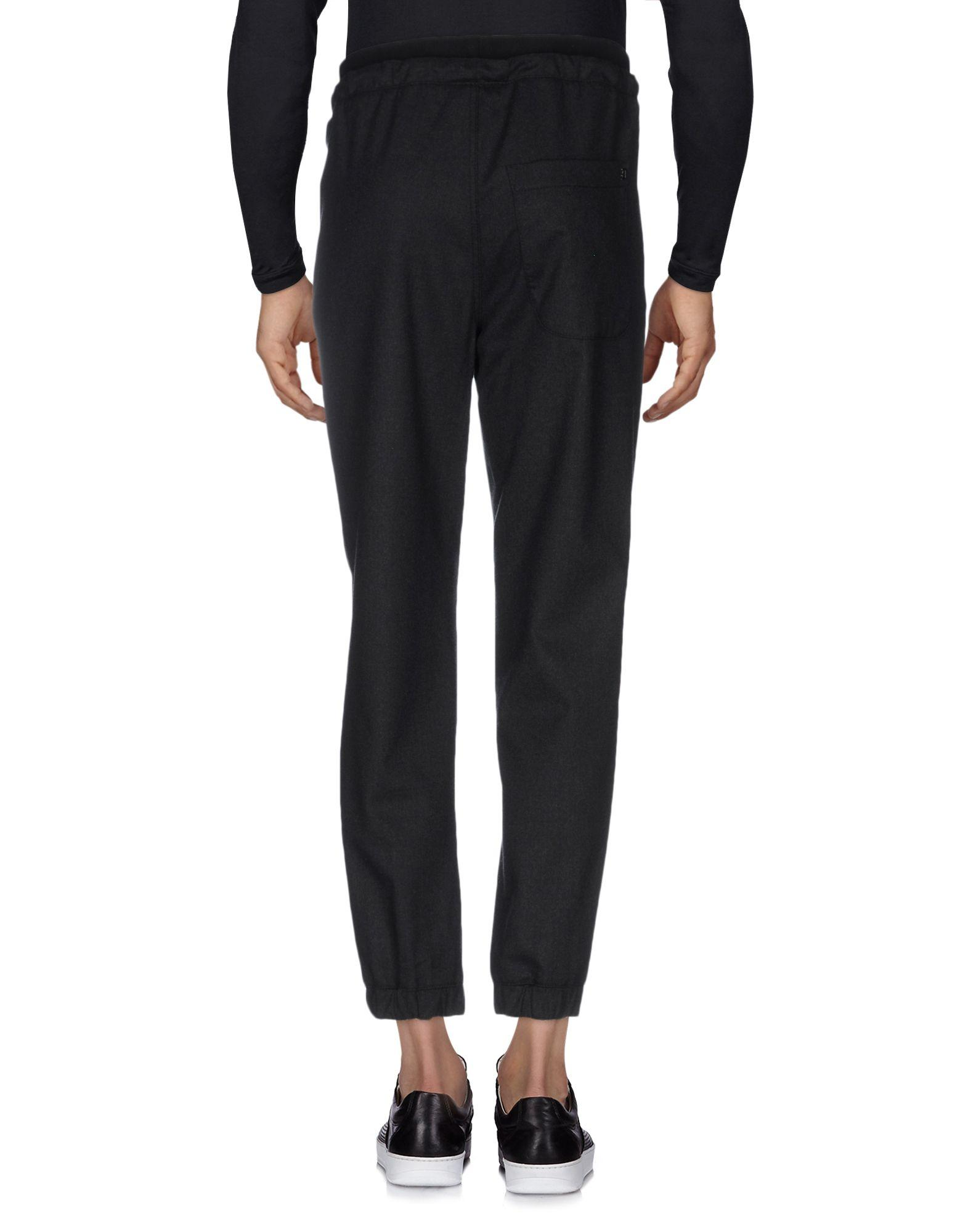 Dondup Flannel Casual Pants in Steel Grey (Grey) for Men