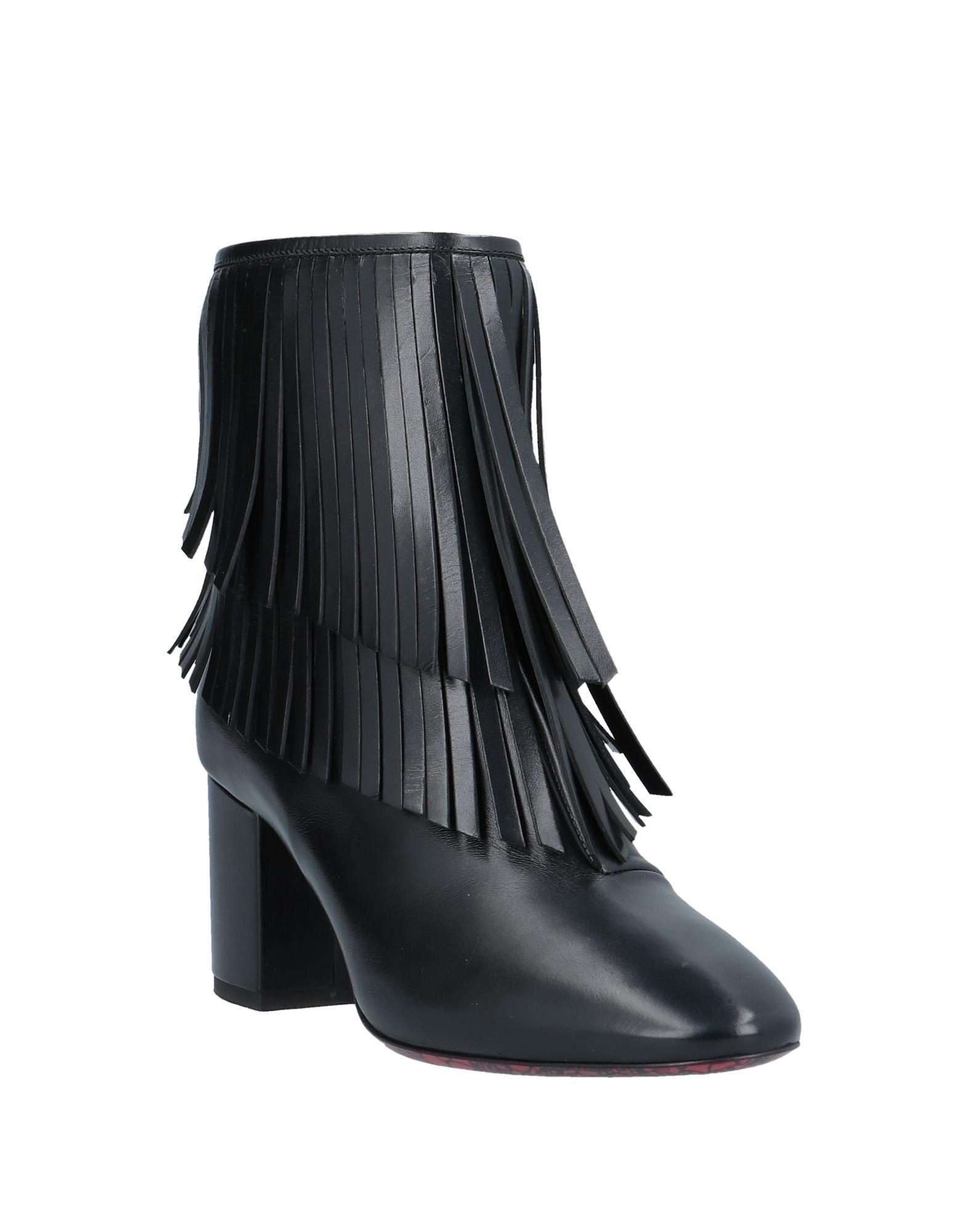 Botines de caña alta Cesare Paciotti de Cuero de color Negro