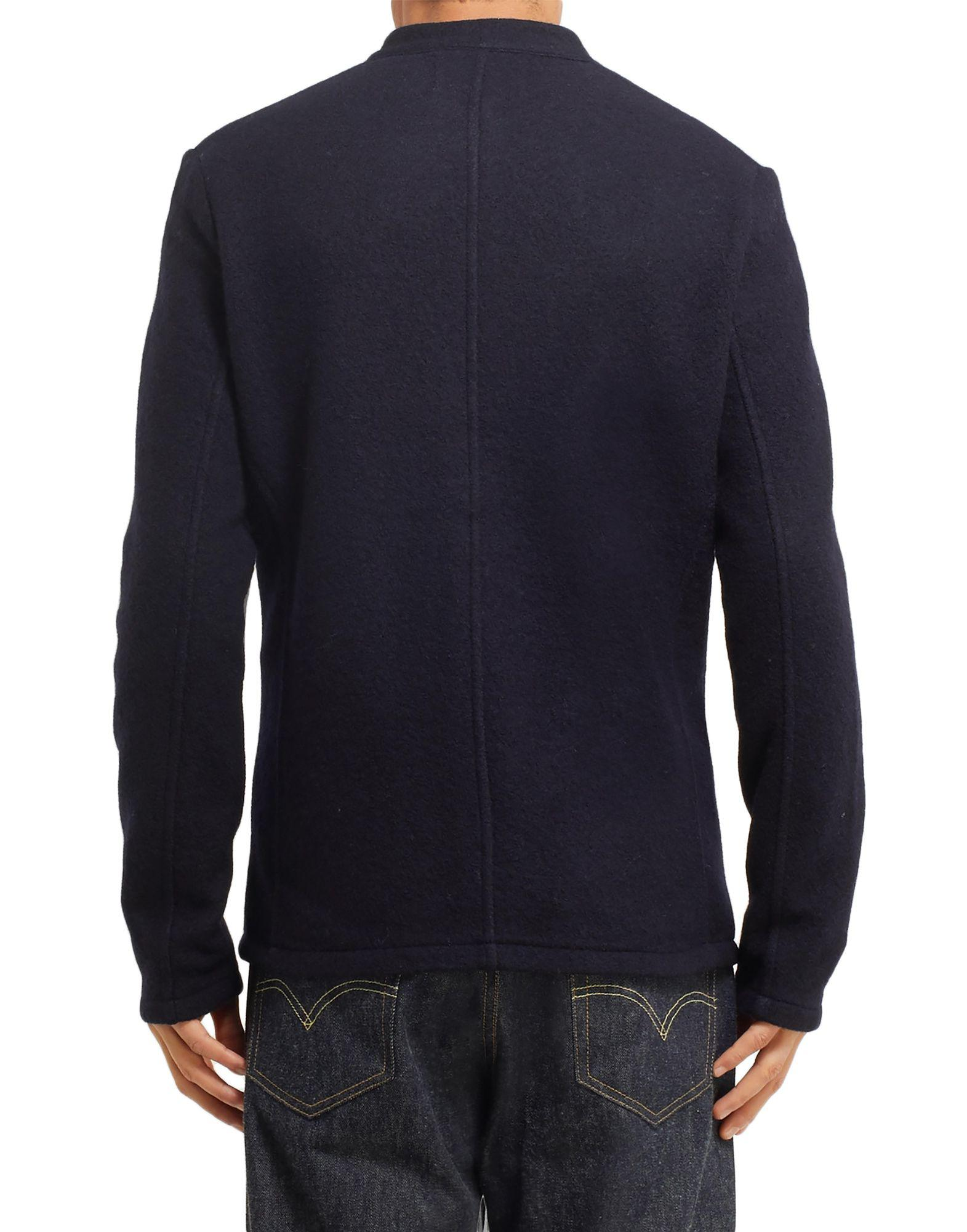 NN07 Wool Blazer in Navy (Blue) for Men