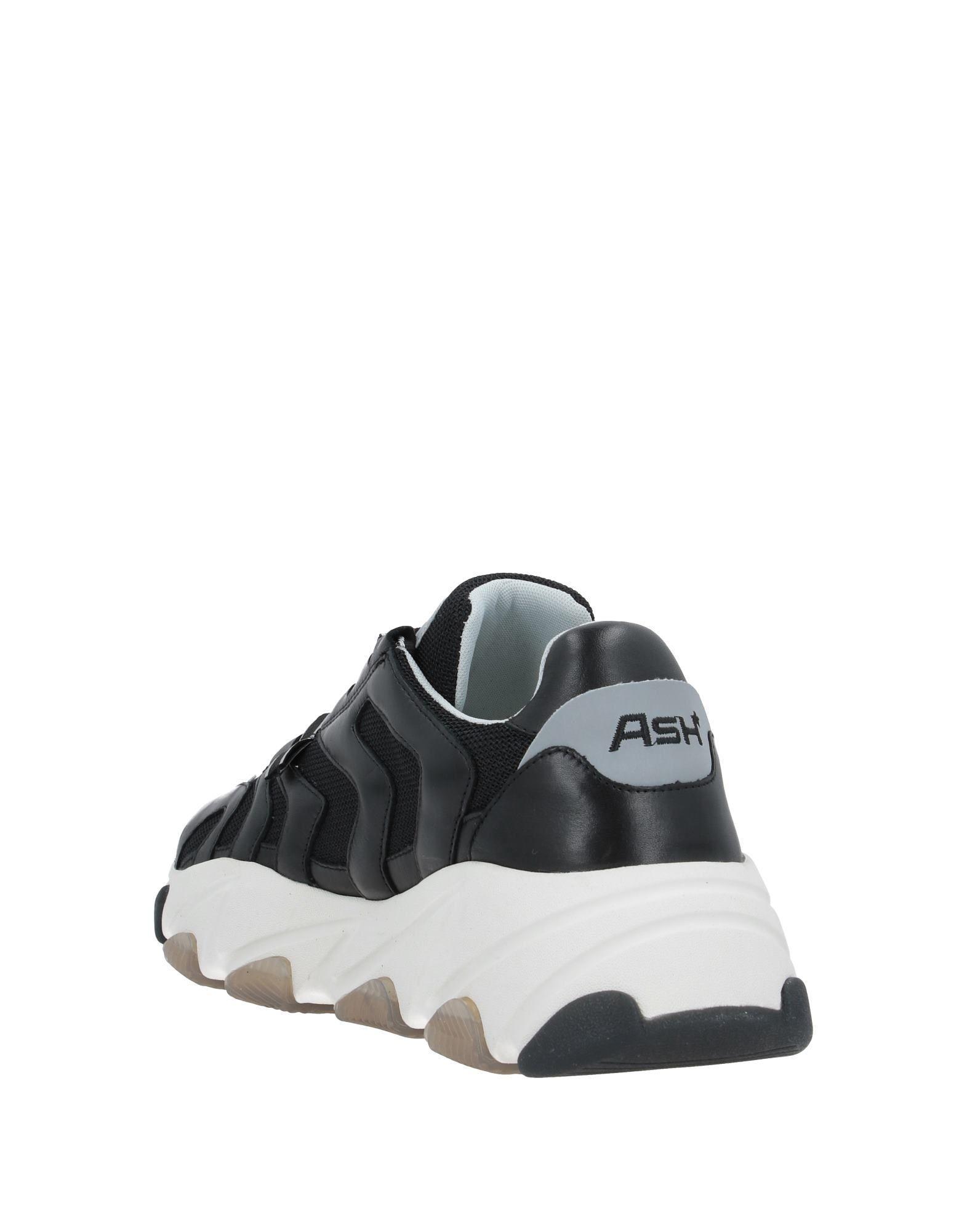Sneakers & Deportivas Ash de Cuero de color Negro para hombre