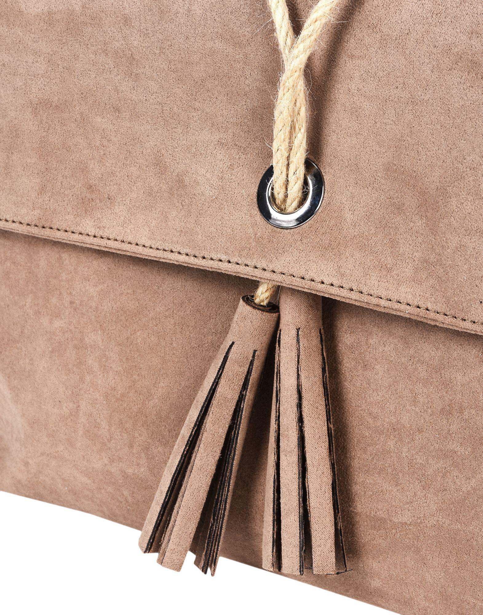 8 Synthetic Cross-body Bags in Khaki (Natural)
