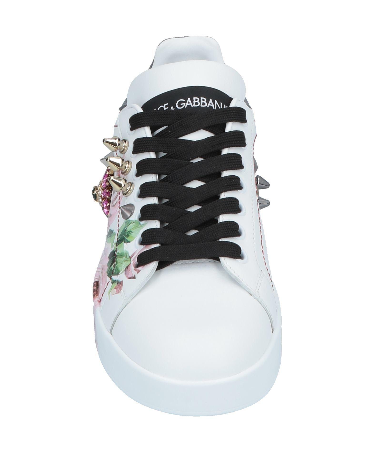 Sneakers & Deportivas Dolce & Gabbana de Cuero de color Blanco