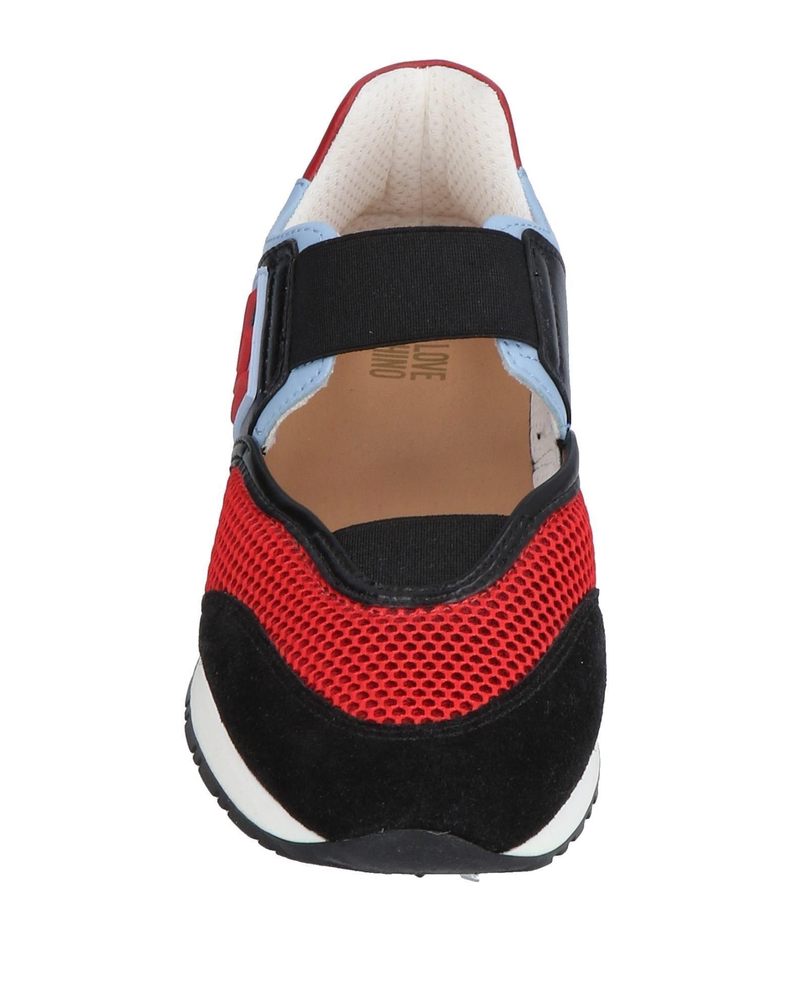 Sneakers & Deportivas Love Moschino de color Rojo