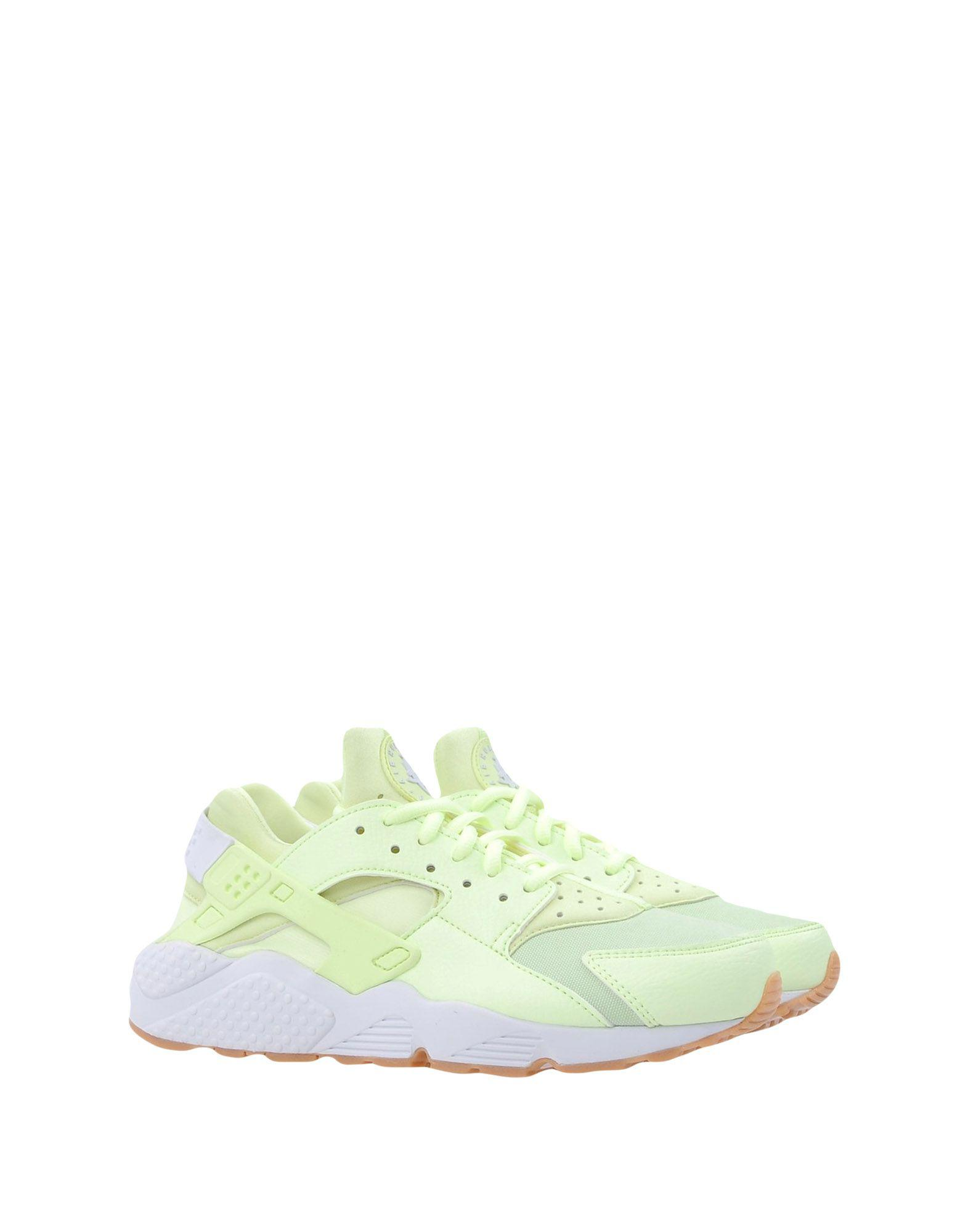 Nike Canvas Low-tops & Sneakers in Acid Green (Green)