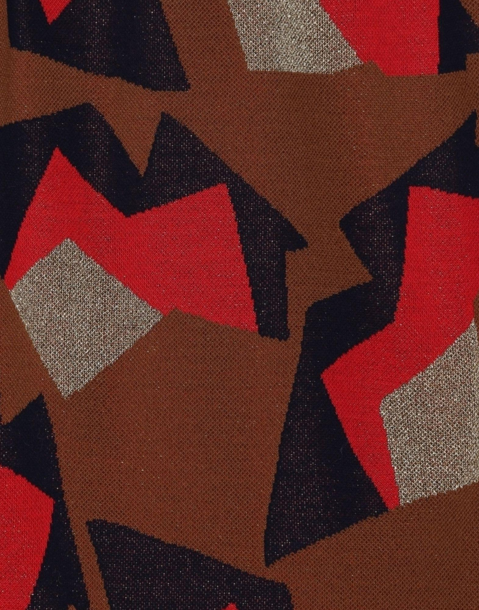 Mini-jupe Coton Marni en coloris Marron