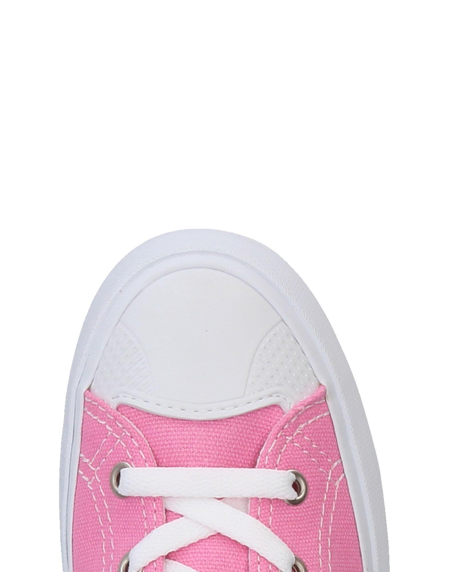 Sneakers abotinadas U.S. POLO ASSN. de Lona de color Rosa