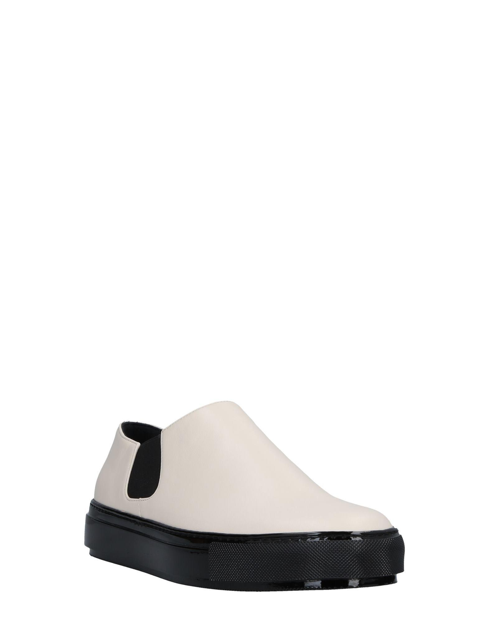Marni Leather Low-tops & Sneakers in Ivory (White)