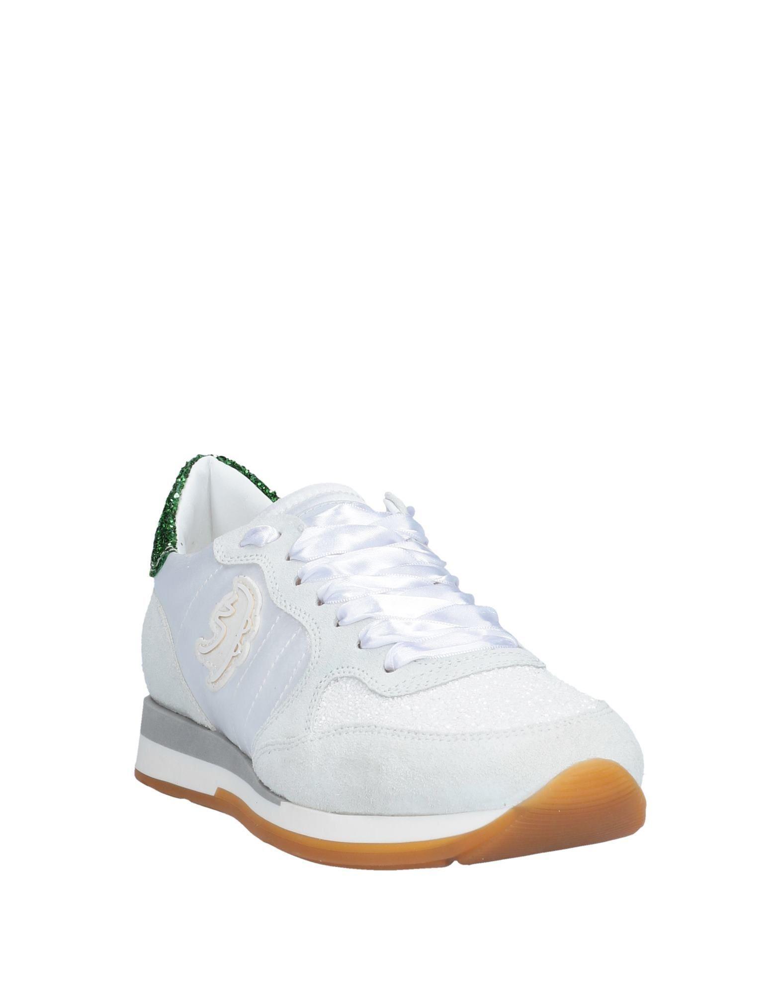 Sneakers & Deportivas Primabase de Ante de color Blanco