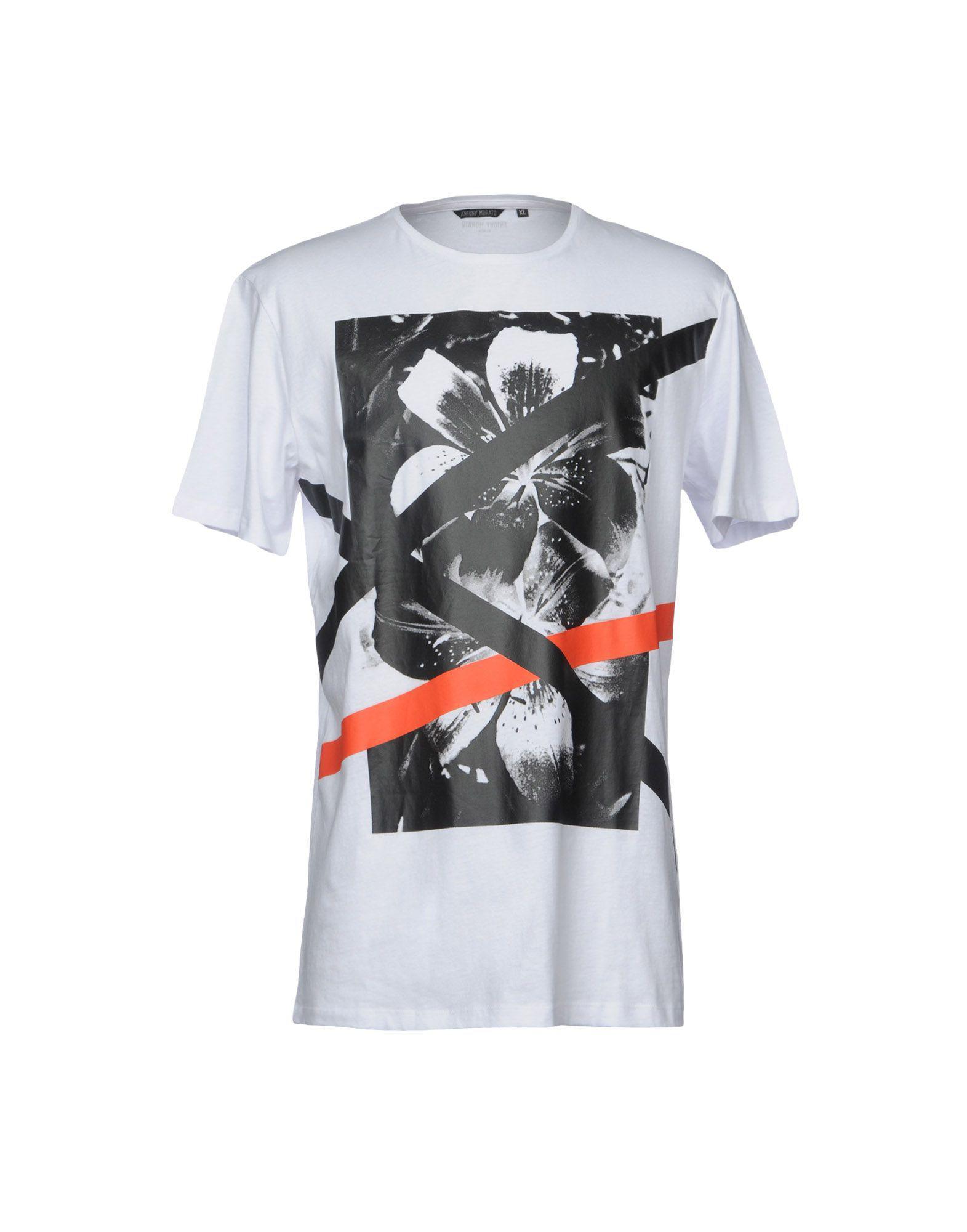 d10c3f62 Lyst - Antony Morato T-shirt in White for Men