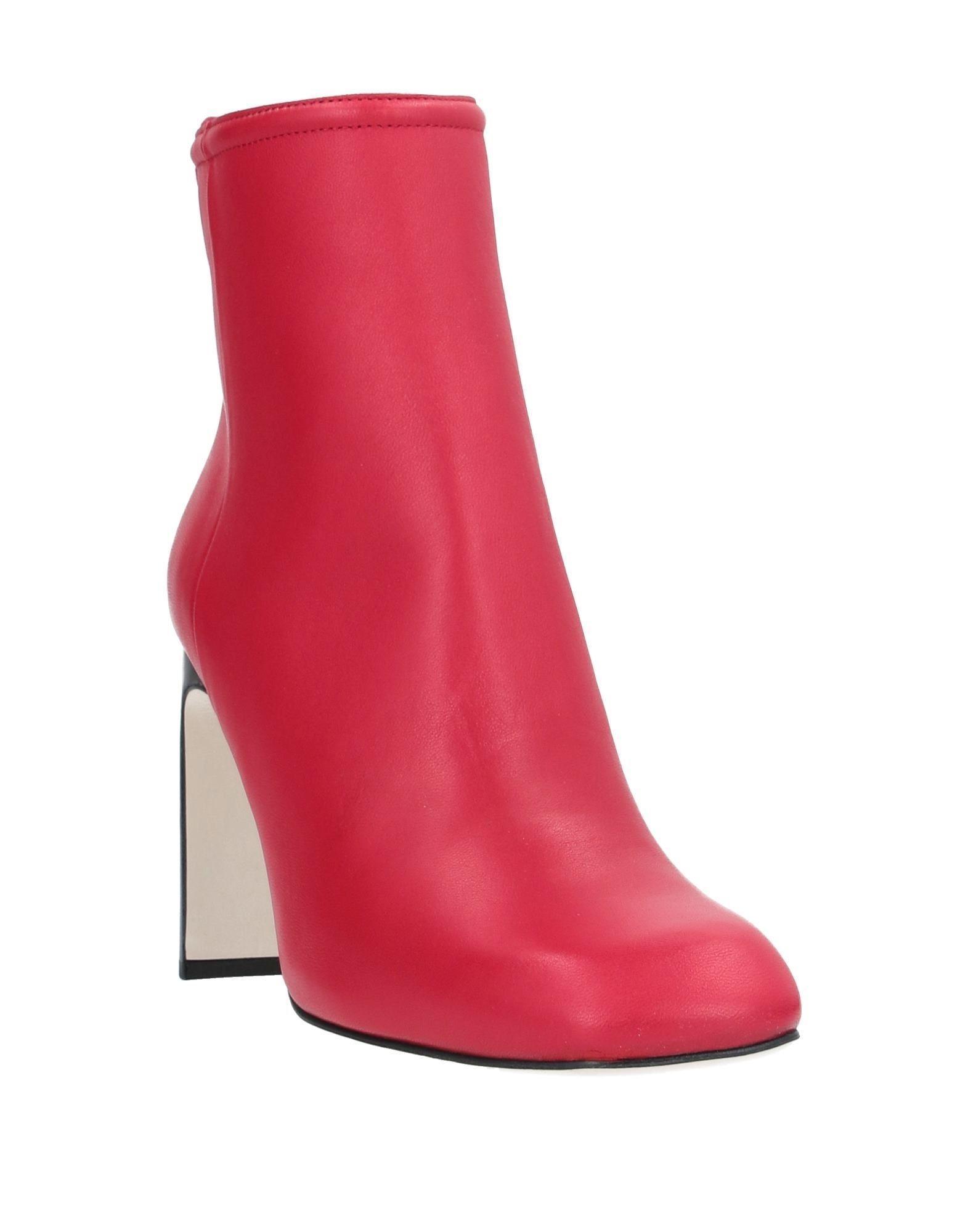 Botines de caña alta Rag & Bone de color Rojo