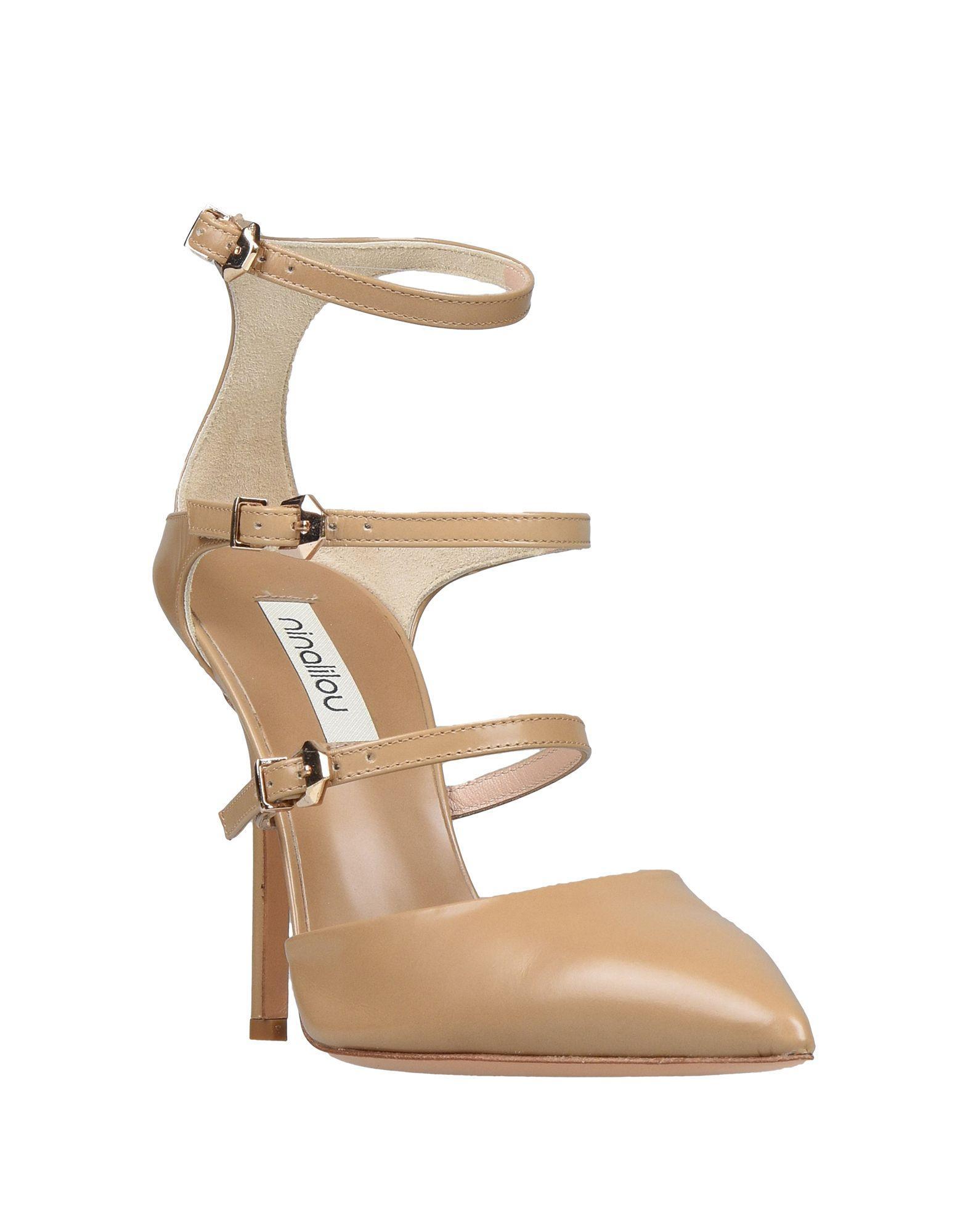 Zapatos de salón Ninalilou de color Neutro