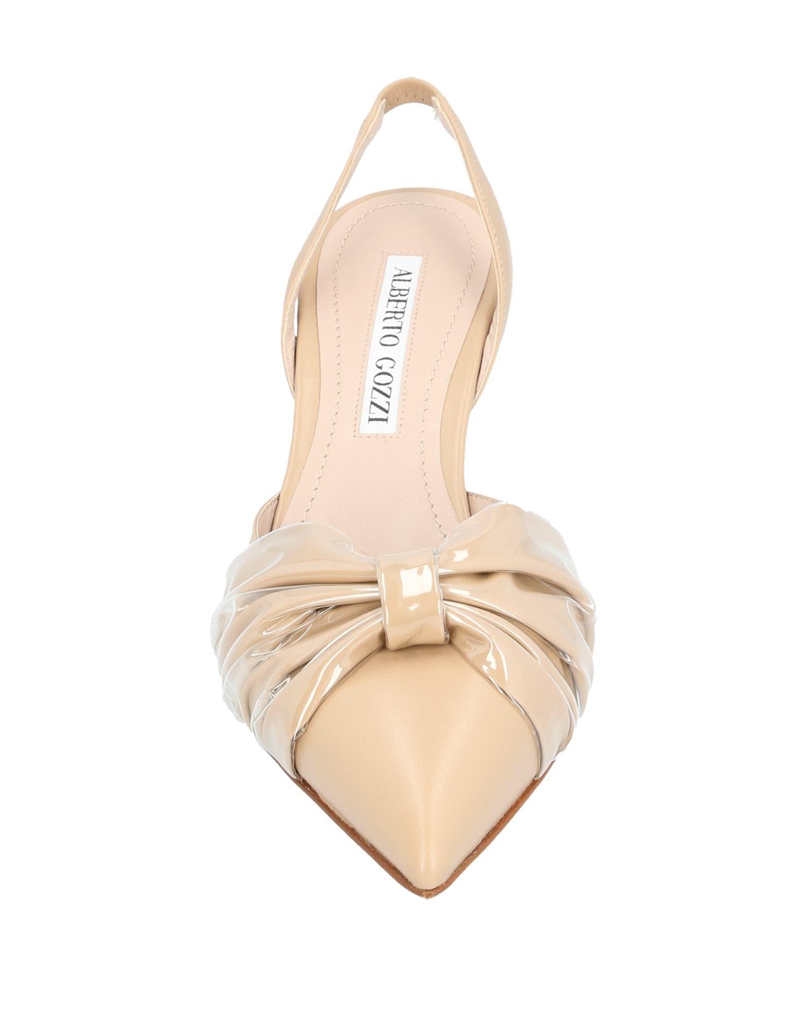 Zapatos de salón Alberto Gozzi de color Neutro