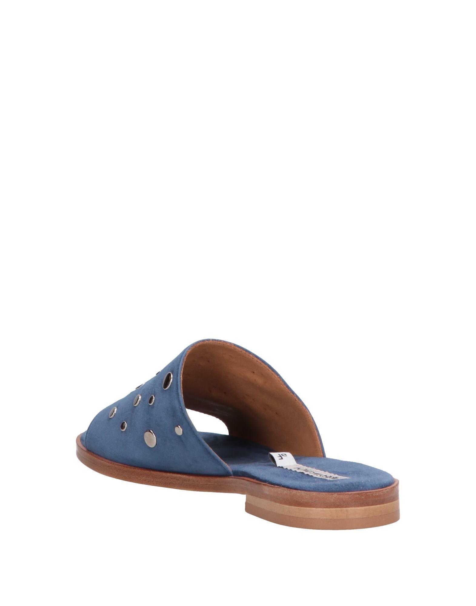 Sandalias Alberto Fermani de Cuero de color Azul
