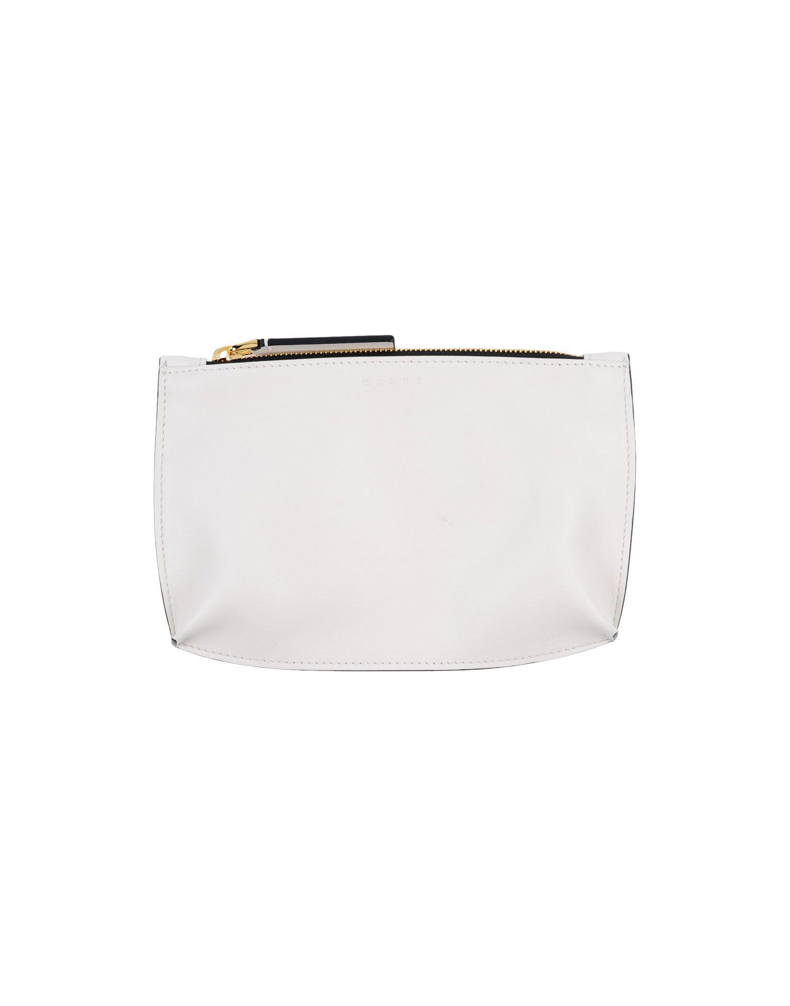 fe0a23018c776 Marni Pouch in White - Lyst