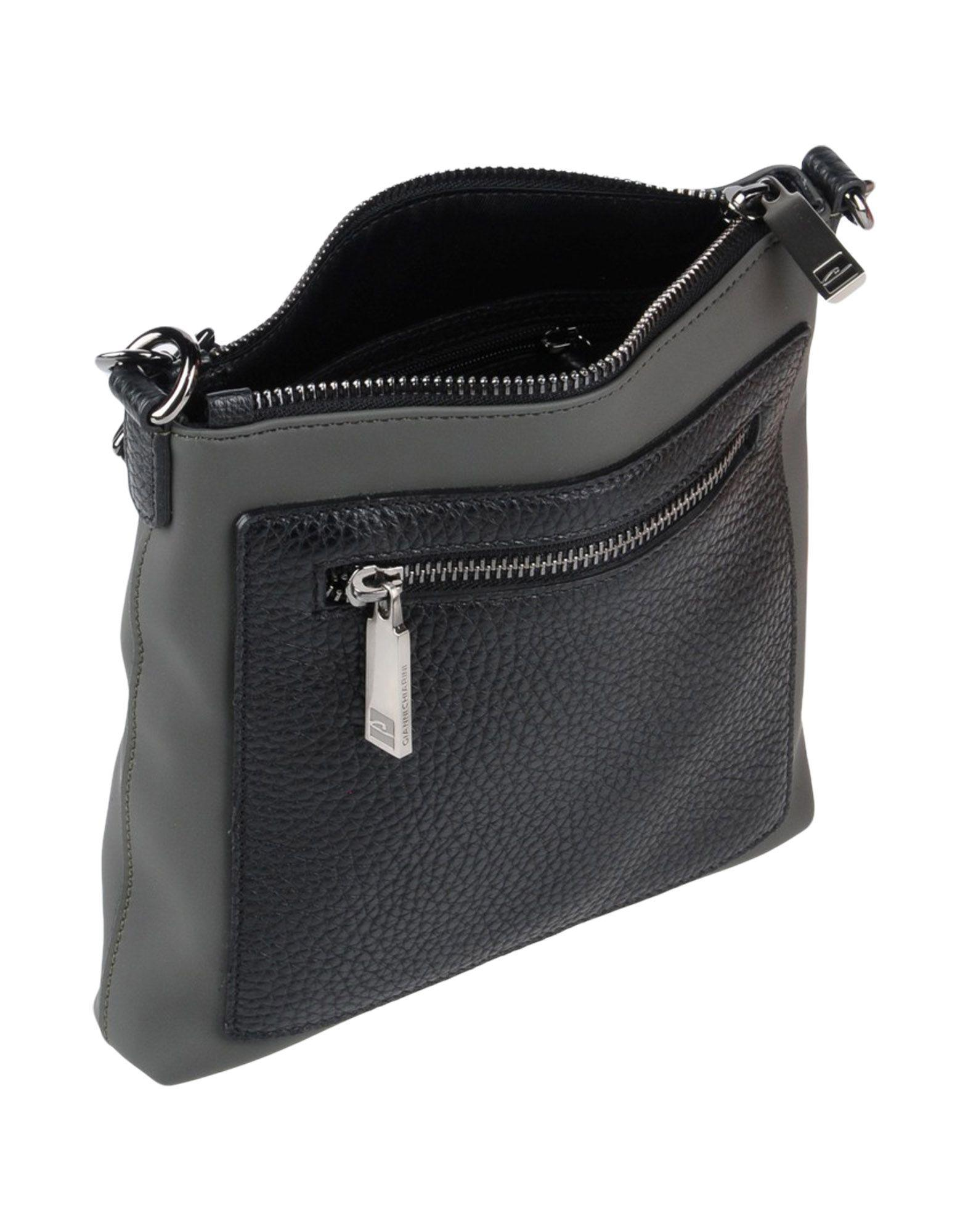 Gianni Chiarini Leather Cross-body Bag in Black for Men