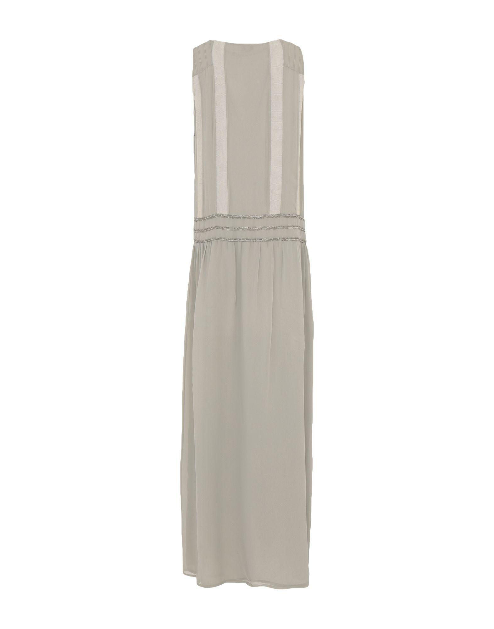 Robe longue Synthétique INTROPIA en coloris Gris