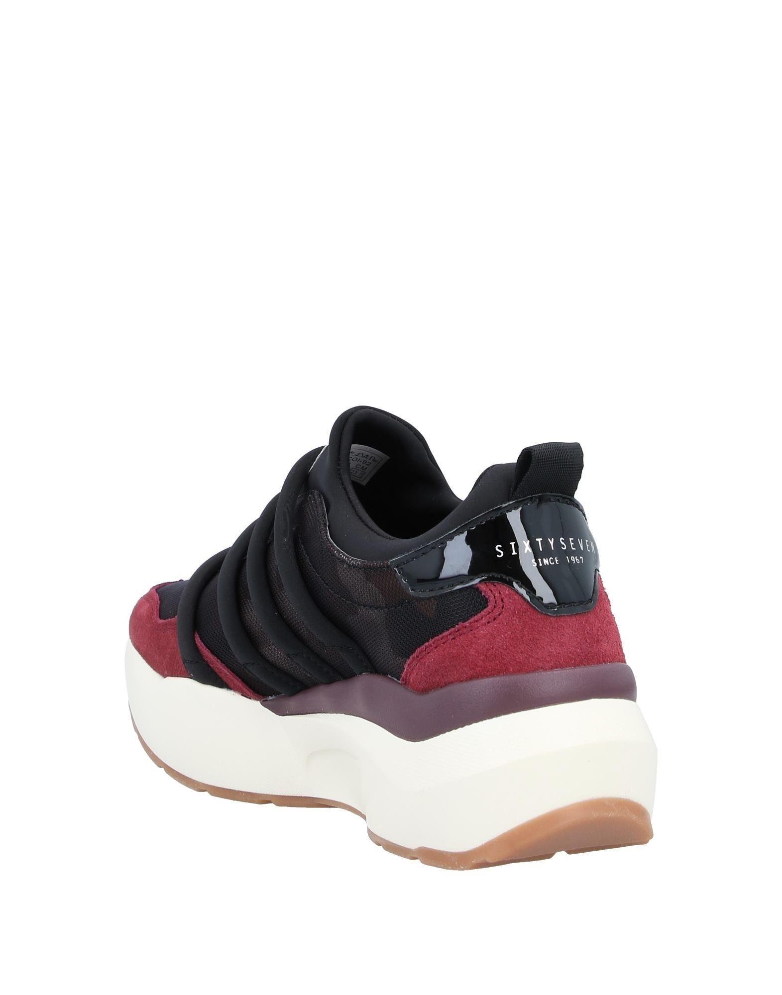 Sneakers & Deportivas Sixtyseven de Ante de color Rojo