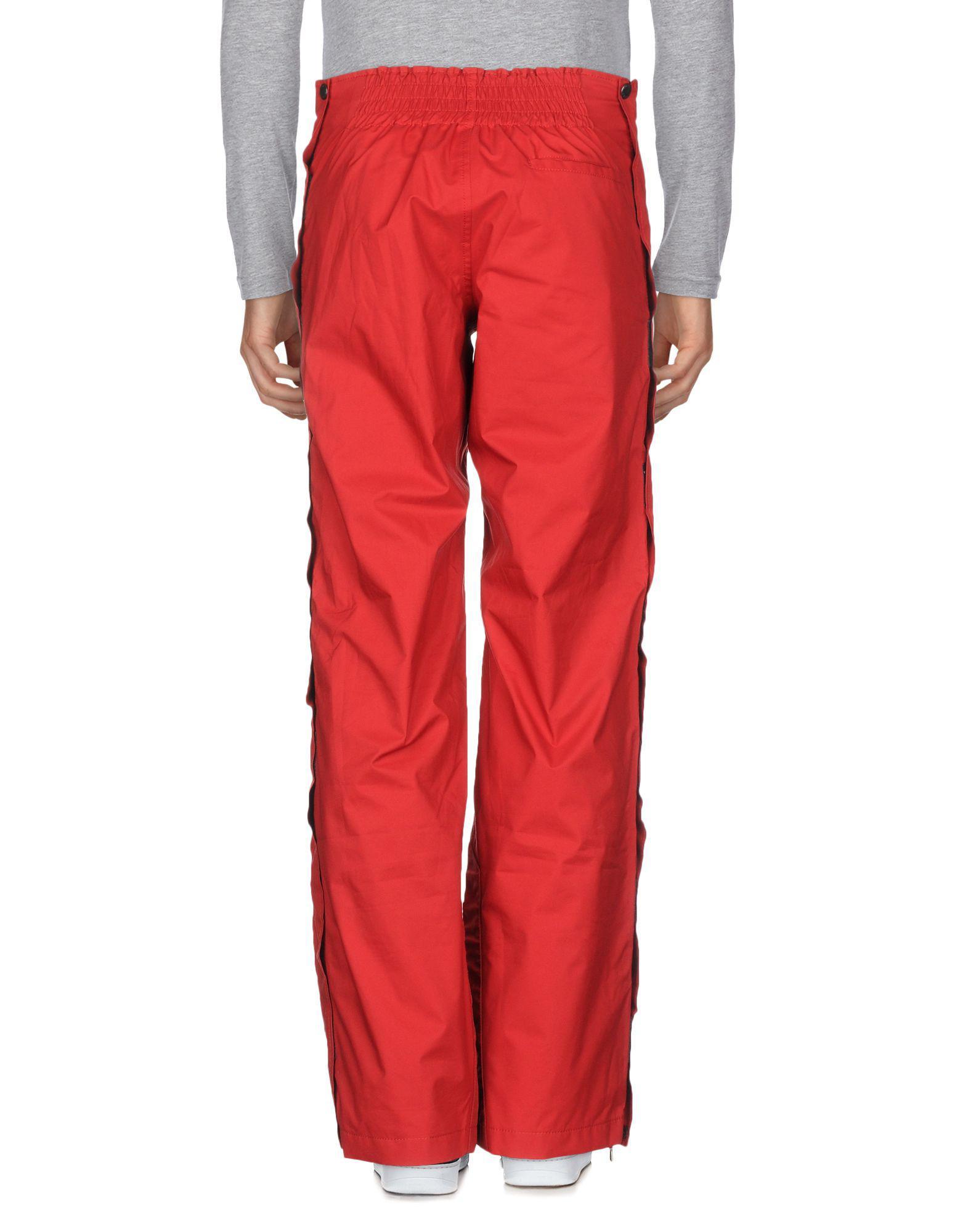 f4a334d1 Men's Red Ski Pants