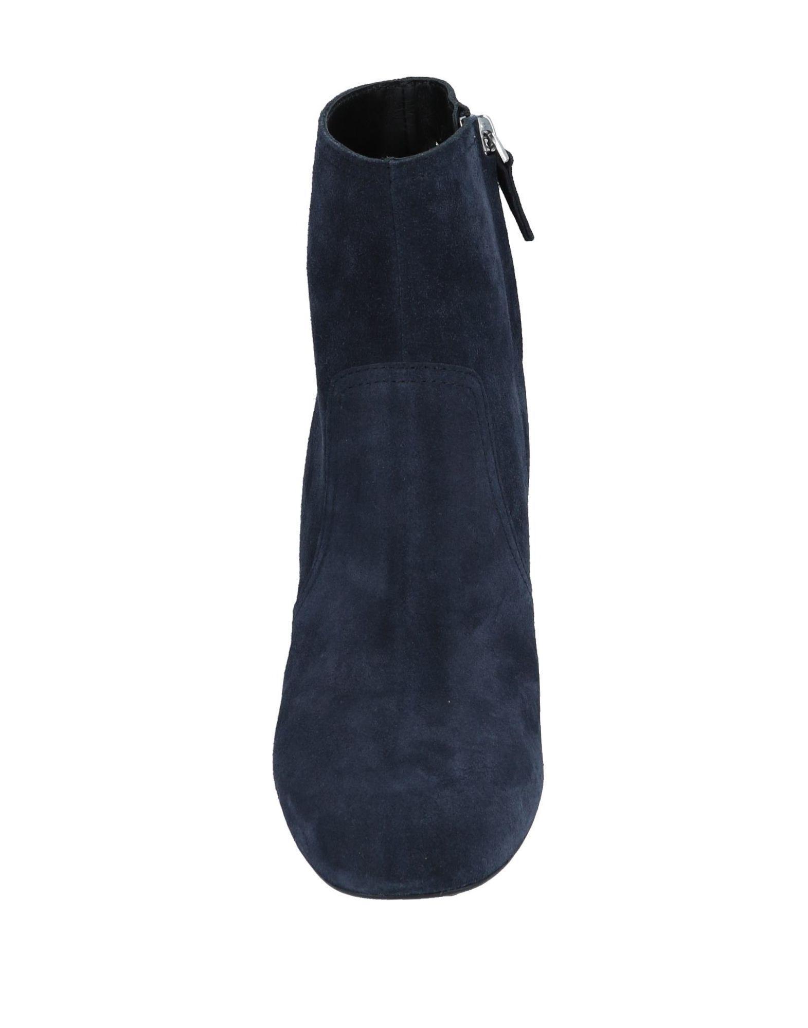 Botines de caña alta Tod's de Cuero de color Azul