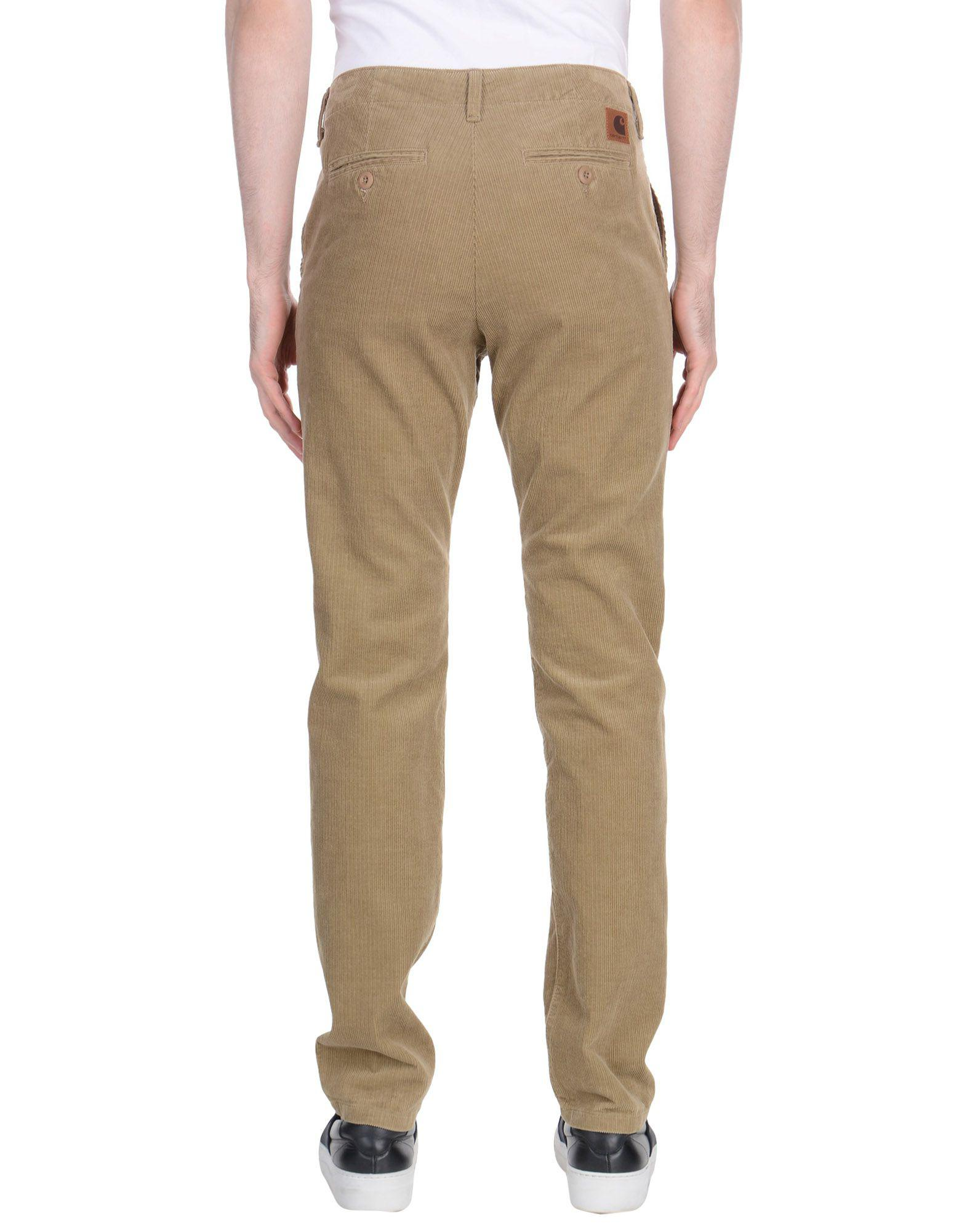 Carhartt Corduroy Casual Pants in Sand (Natural) for Men