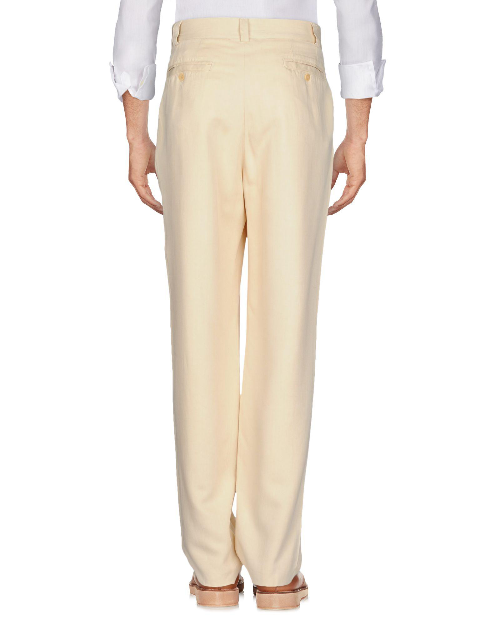 Versus Synthetic Casual Pants in Ivory (White) for Men