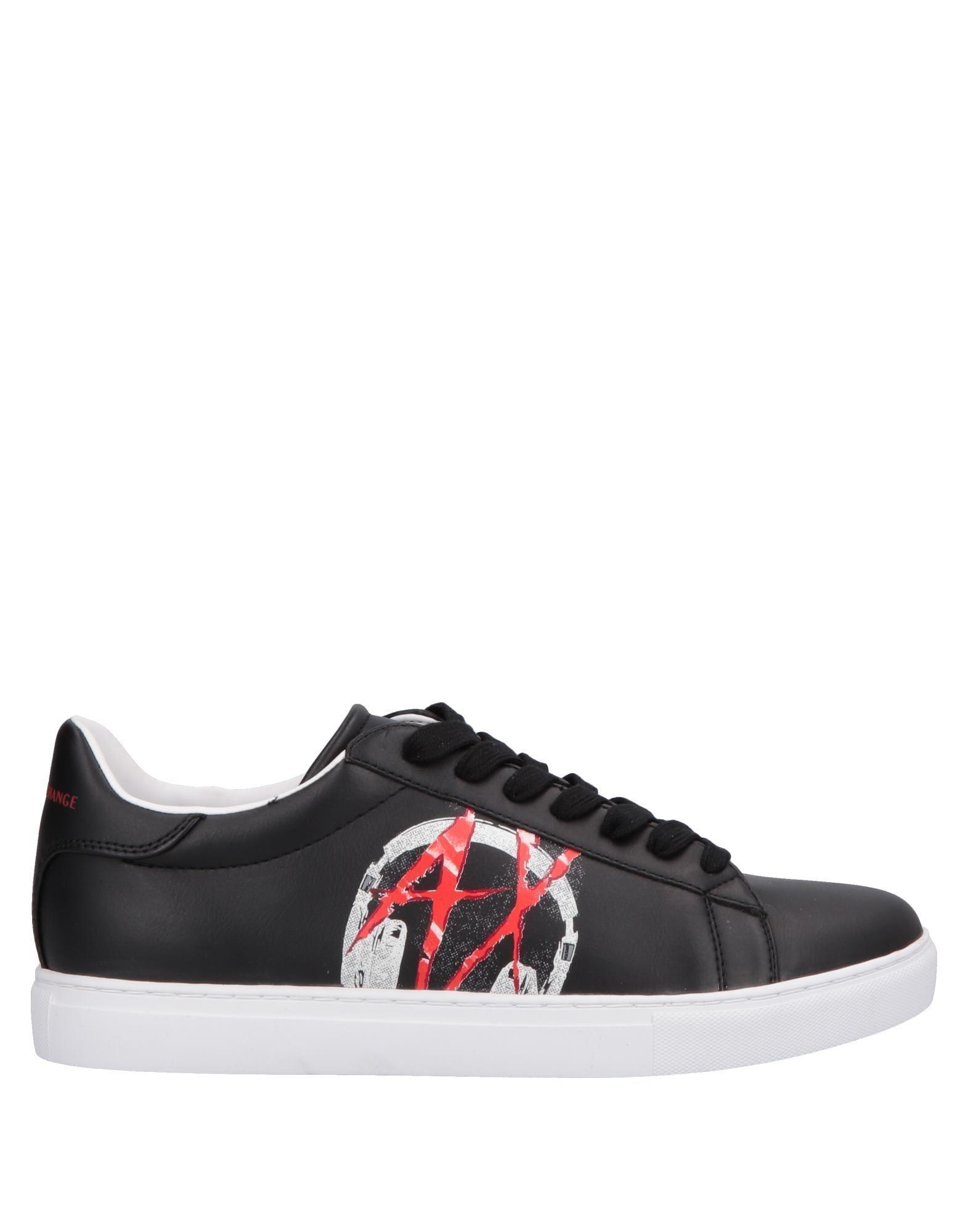 240fa4a00f4 Lyst - Sneakers & Deportivas Armani Exchange de hombre de color Negro