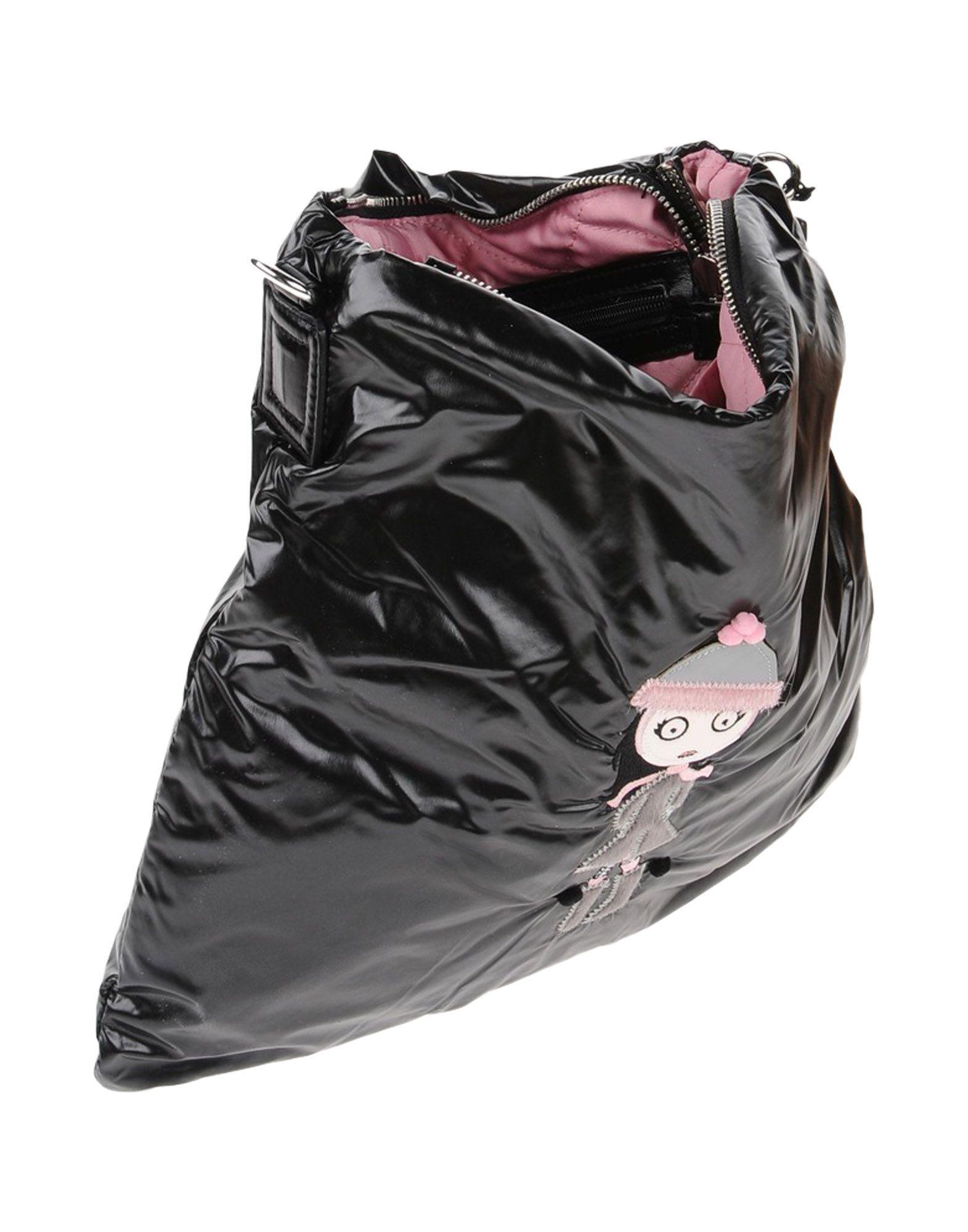Tosca Blu Synthetic Cross-body Bag in Black