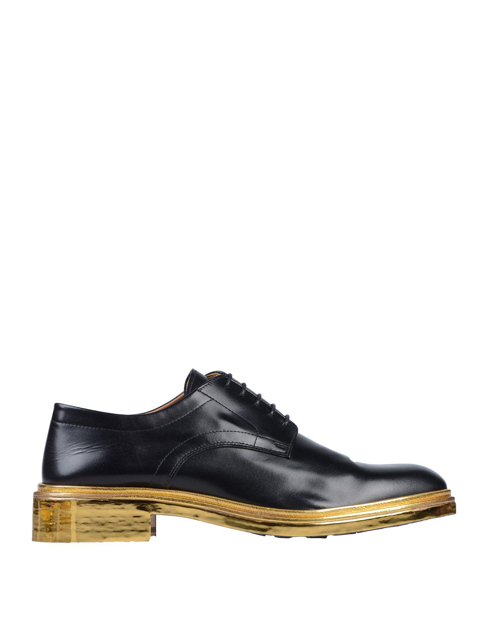 c67a7981f6a Lyst - Maison Margiela Lace-up Shoe in Black for Men