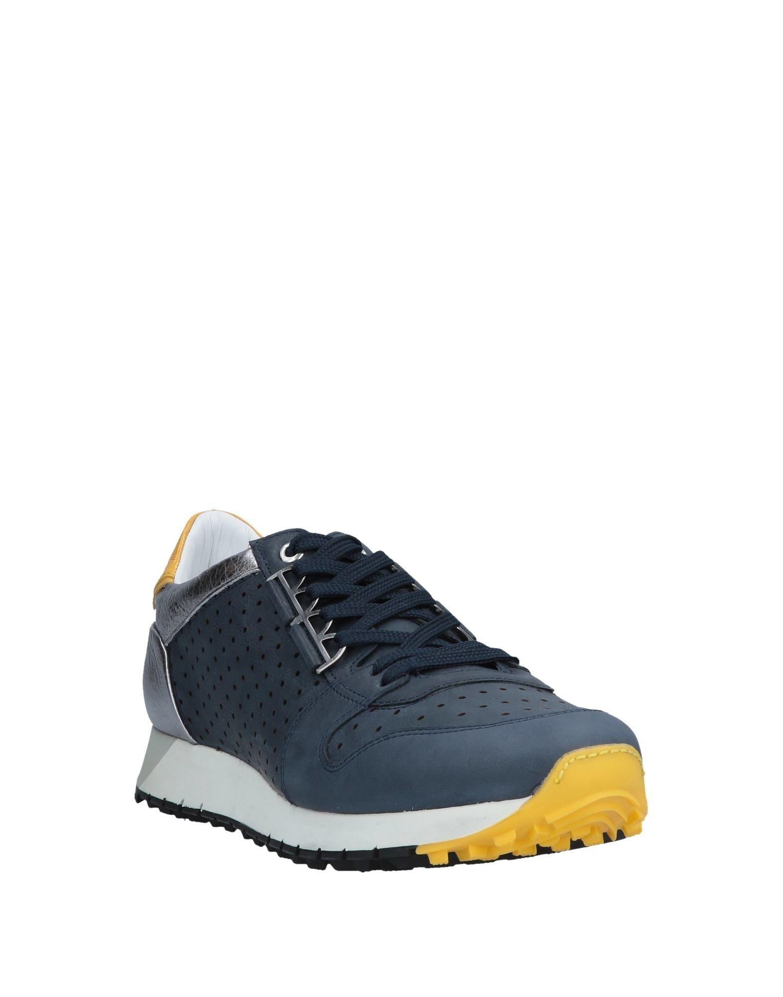 Sneakers & Deportivas Barracuda de Cuero de color Azul para hombre