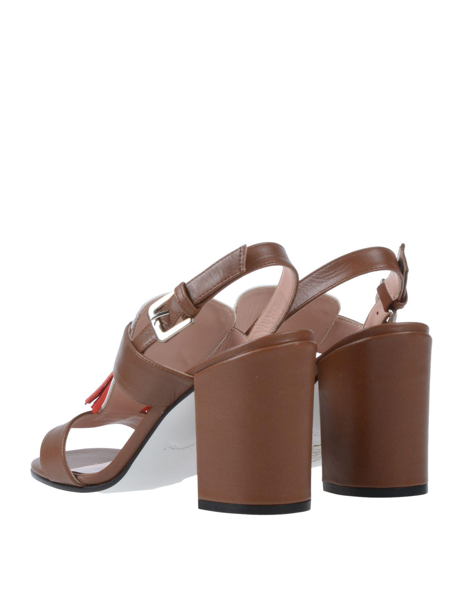 c48c538e5f4 Lyst - Pollini Sandals in Brown
