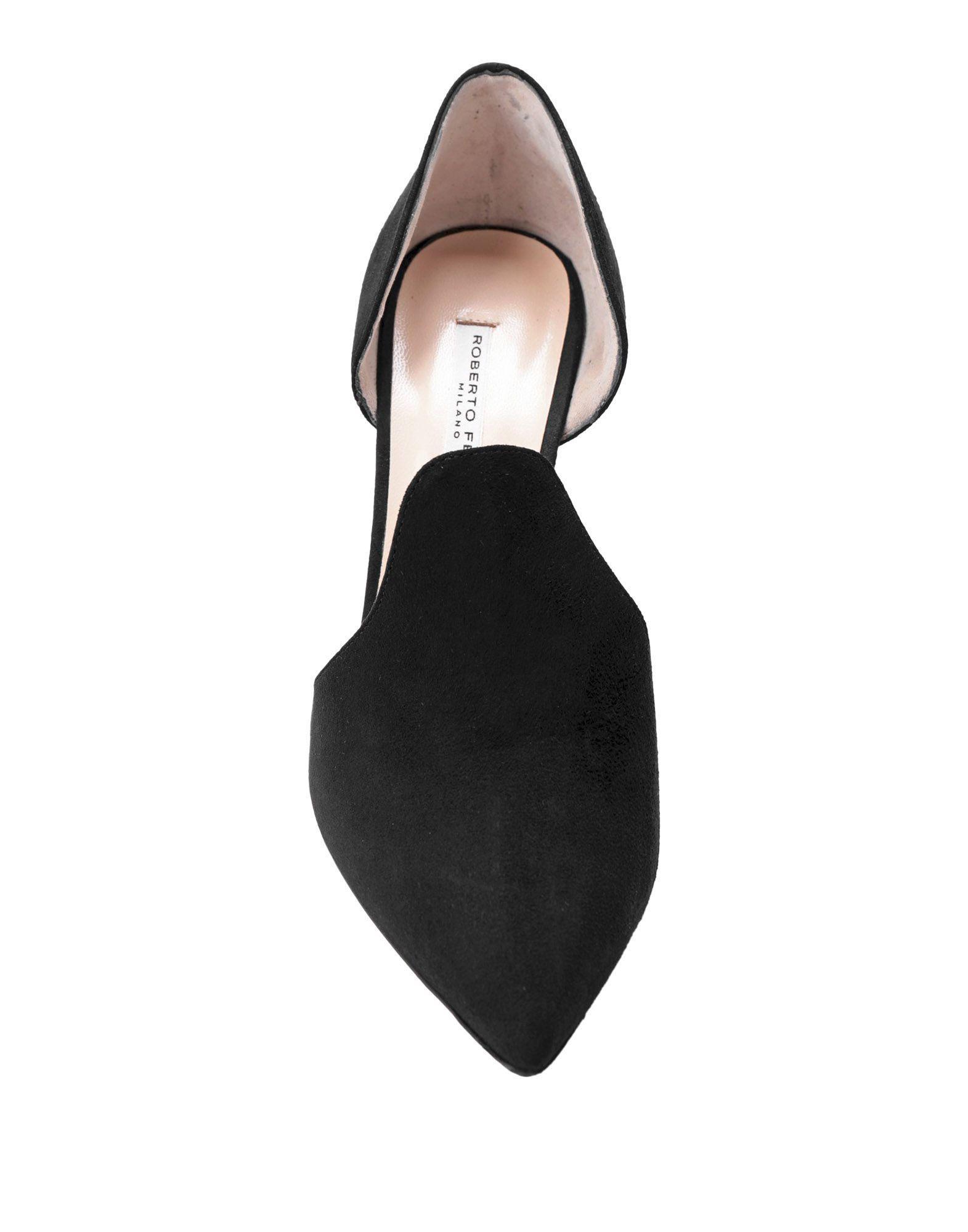 Zapatos de salón Roberto Festa de Ante de color Negro
