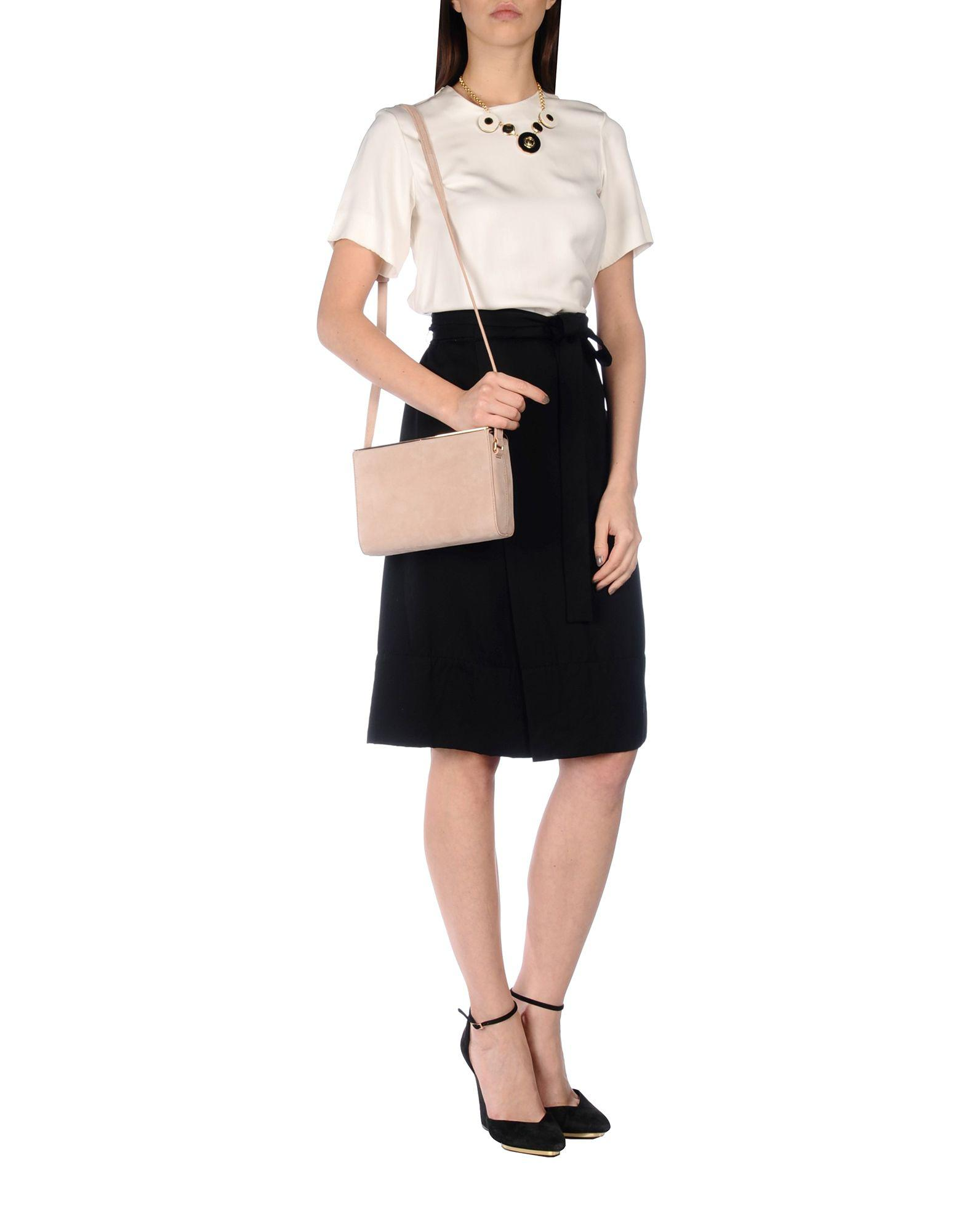Maison Margiela Leather Cross-body Bag in Pink