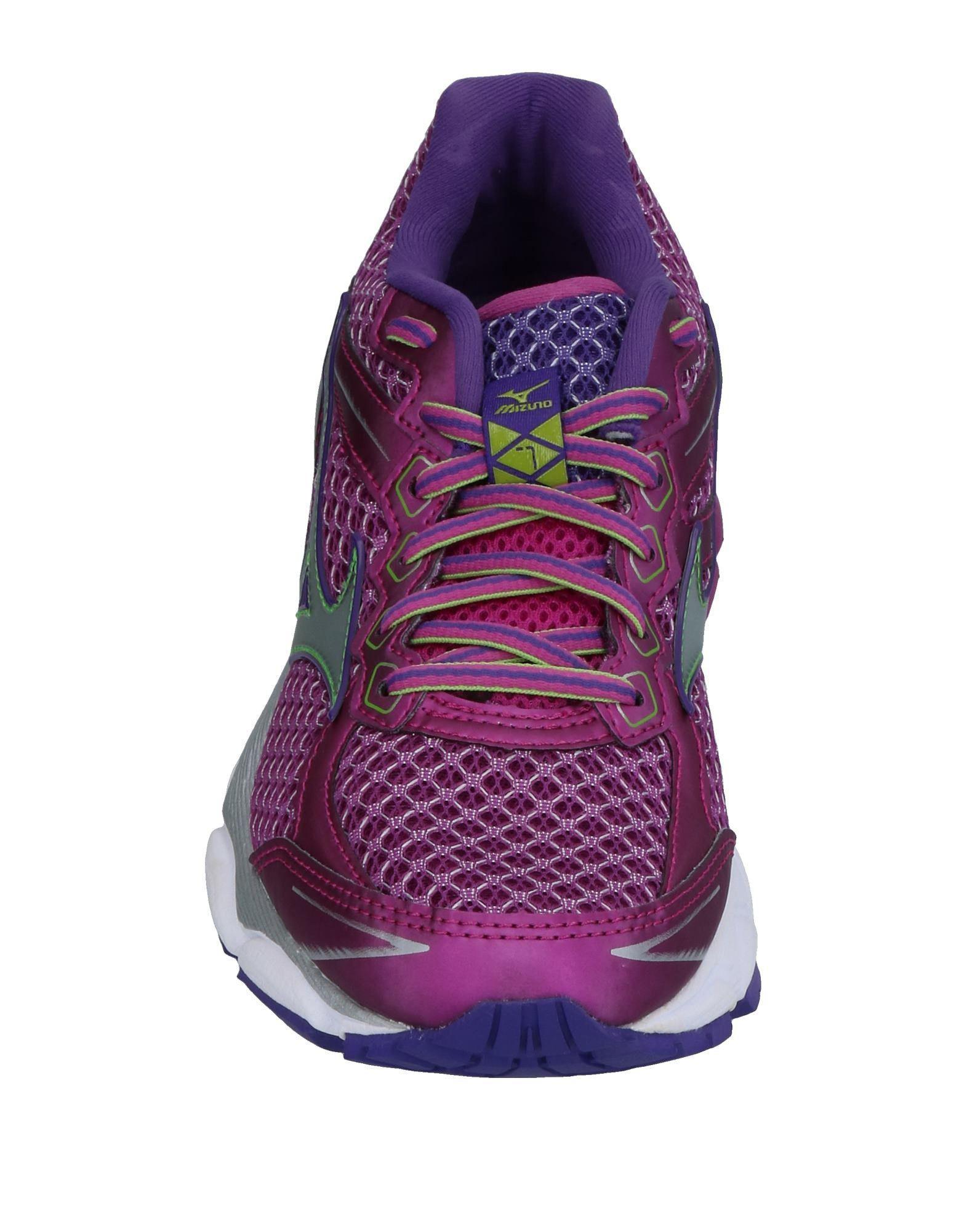 Mizuno Rubber Low-tops & Sneakers in Mauve (Purple)