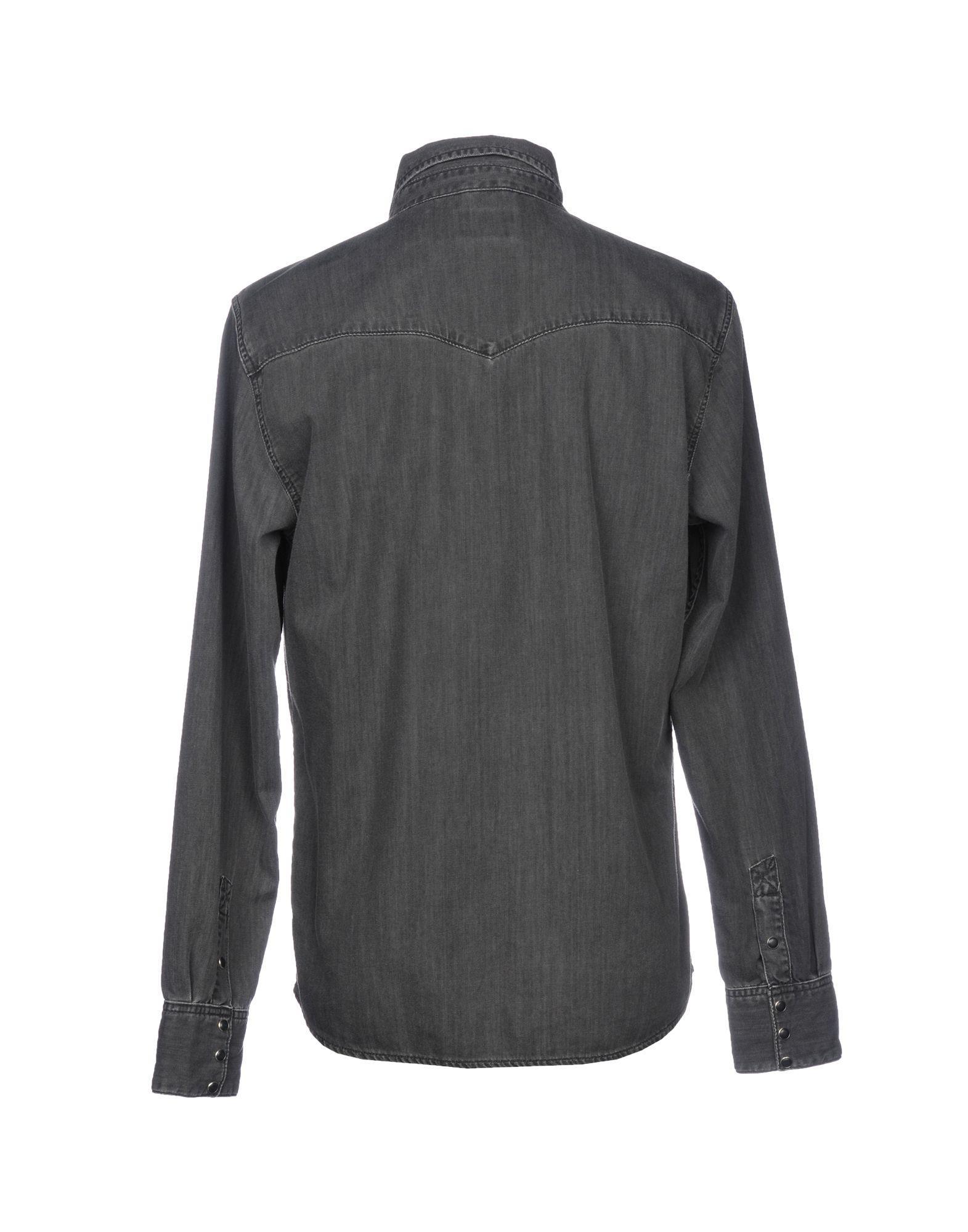 Nudie Jeans Denim Shirt in Steel Grey (Grey) for Men