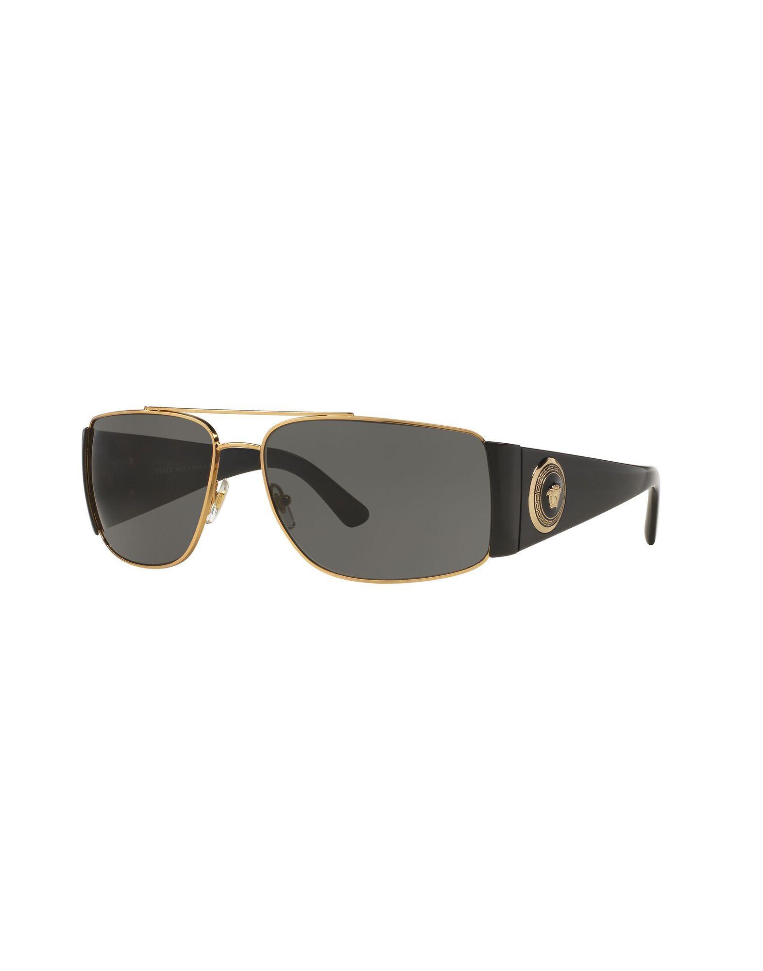 9b661ffabf7a Lyst - Versace Sunglasses in Metallic