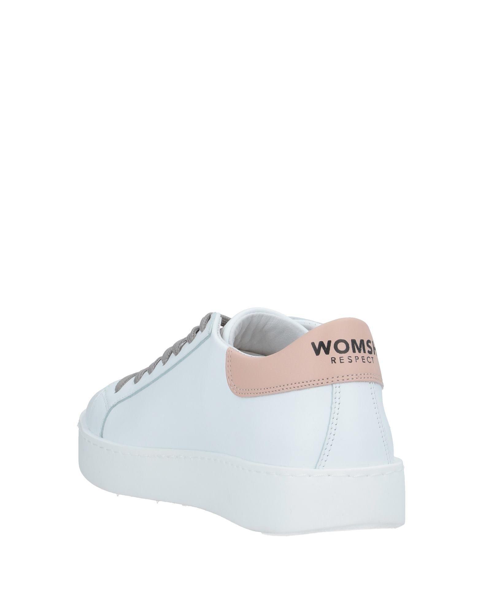 Sneakers & Tennis basses Cuir WOMSH en coloris Blanc VNMF