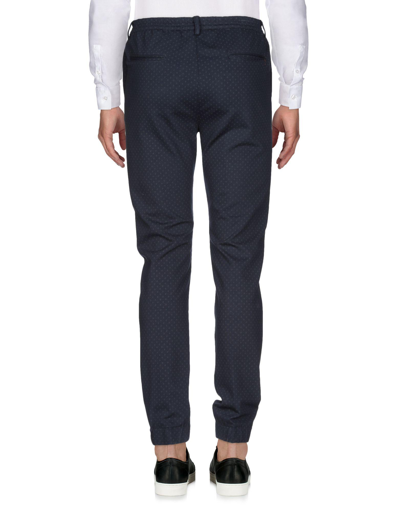 Yan Simmon Synthetic Casual Pants in Dark Blue (Blue) for Men