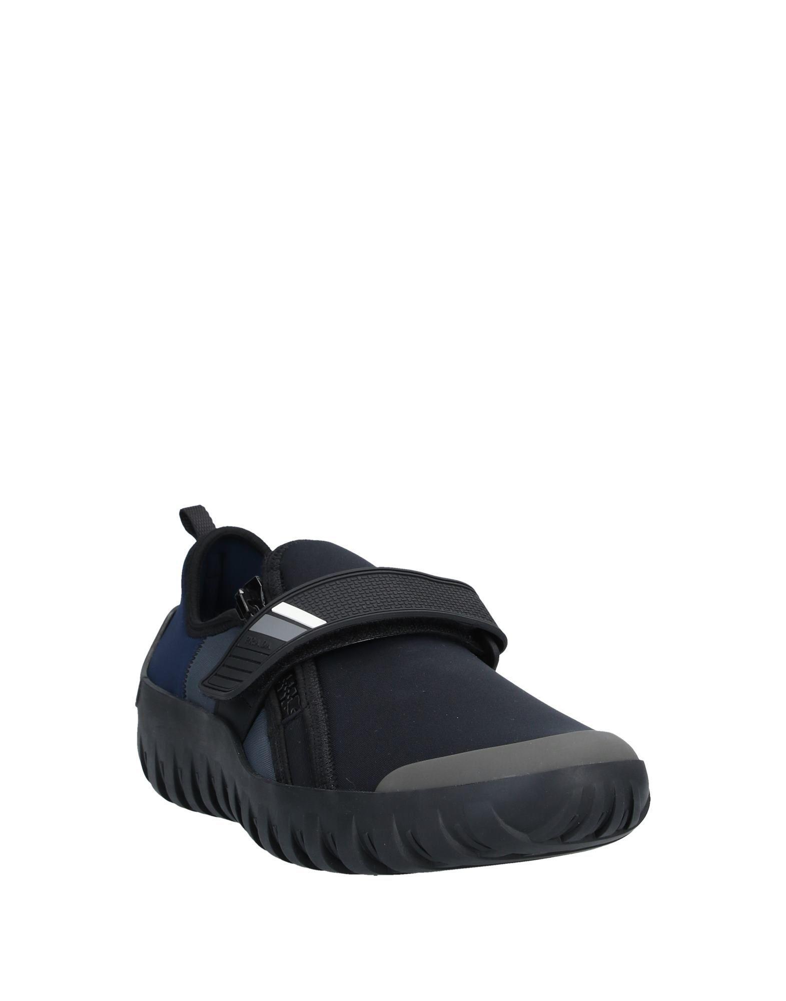 Sneakers & Tennis basses Néoprène Prada Linea Rossa pour homme en coloris Noir 2aOQ