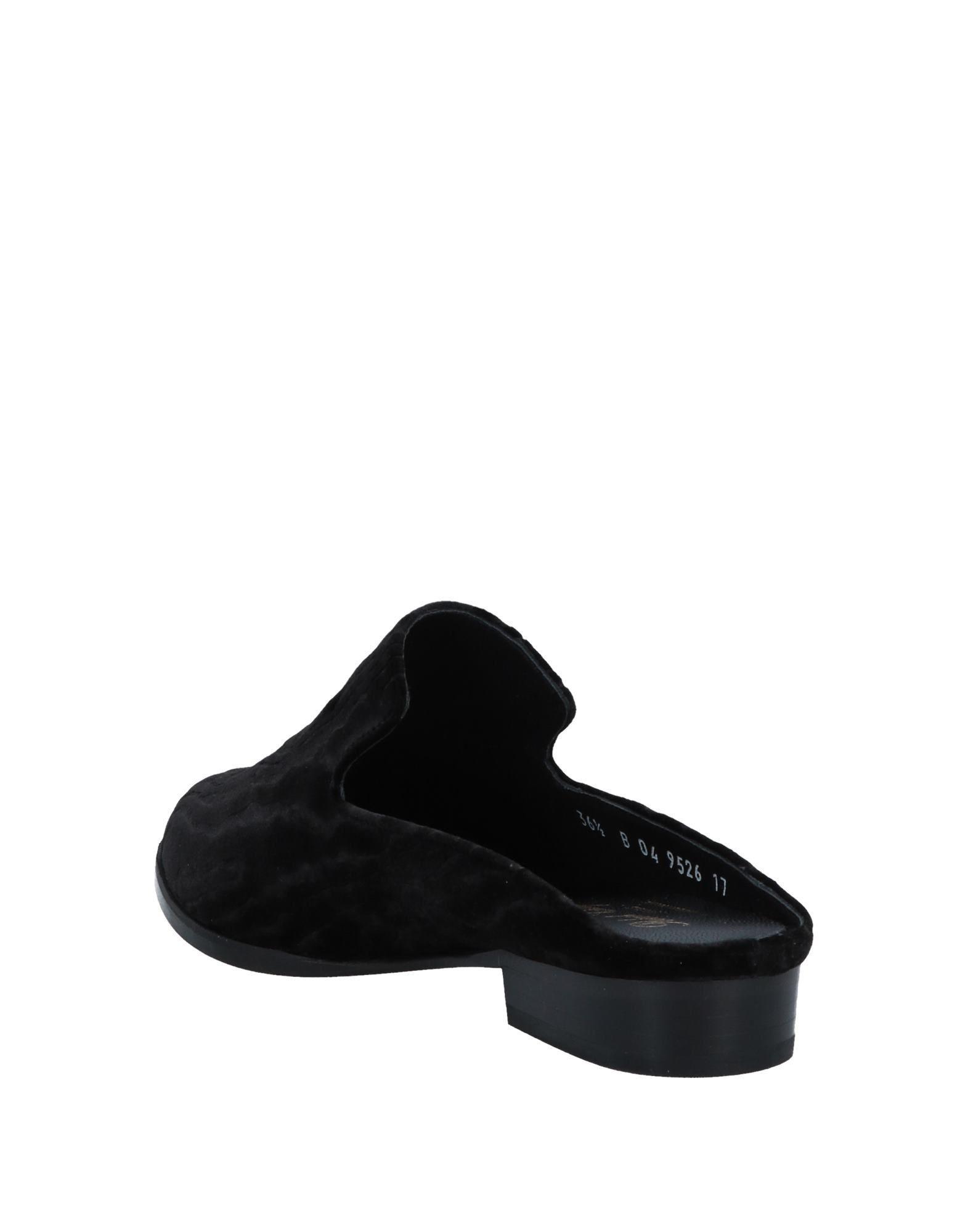 Mules & Zuecos Robert Clergerie de Terciopelo de color Negro