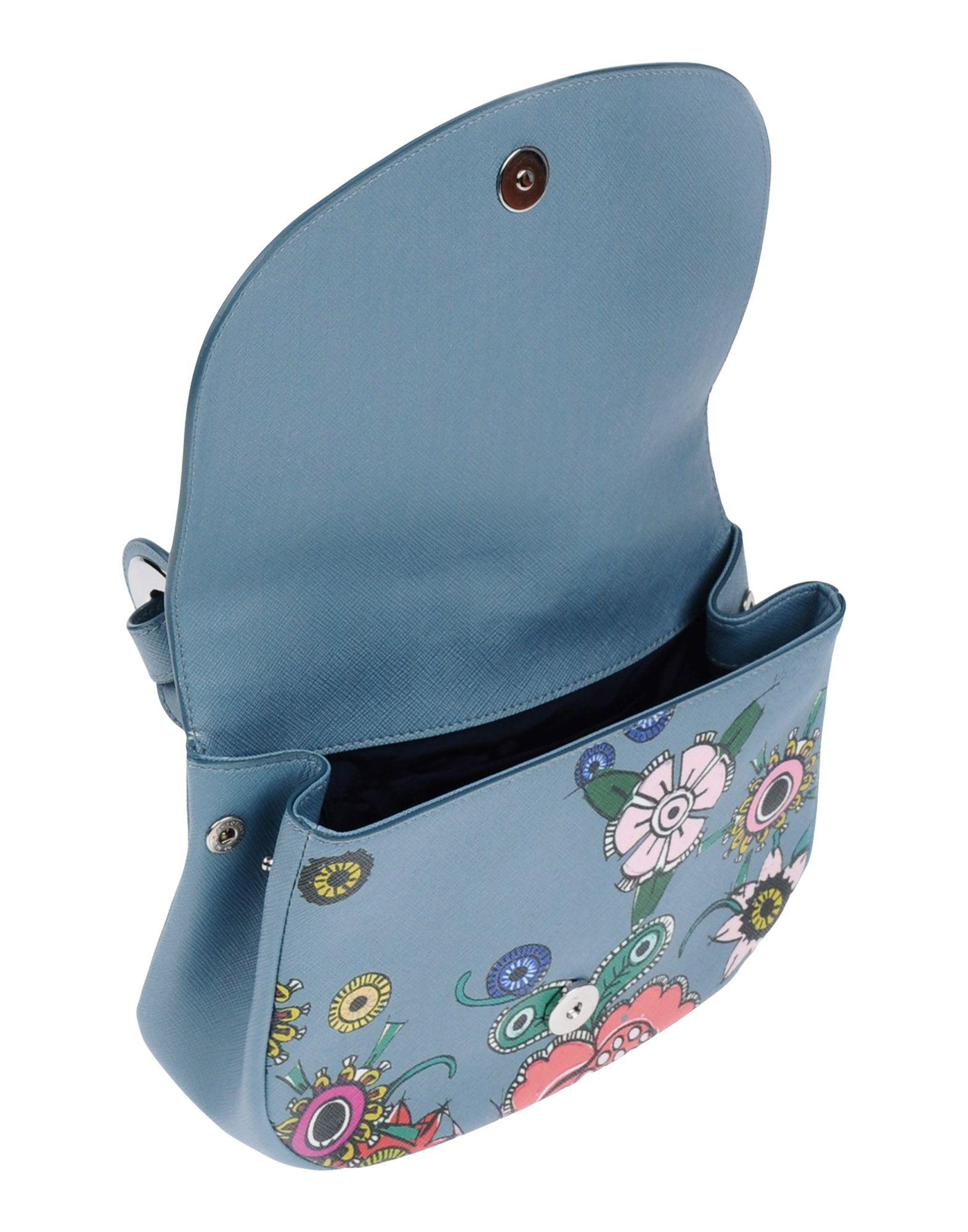 Jil Sander Navy Cross-body Bag in Slate Blue (Blue)