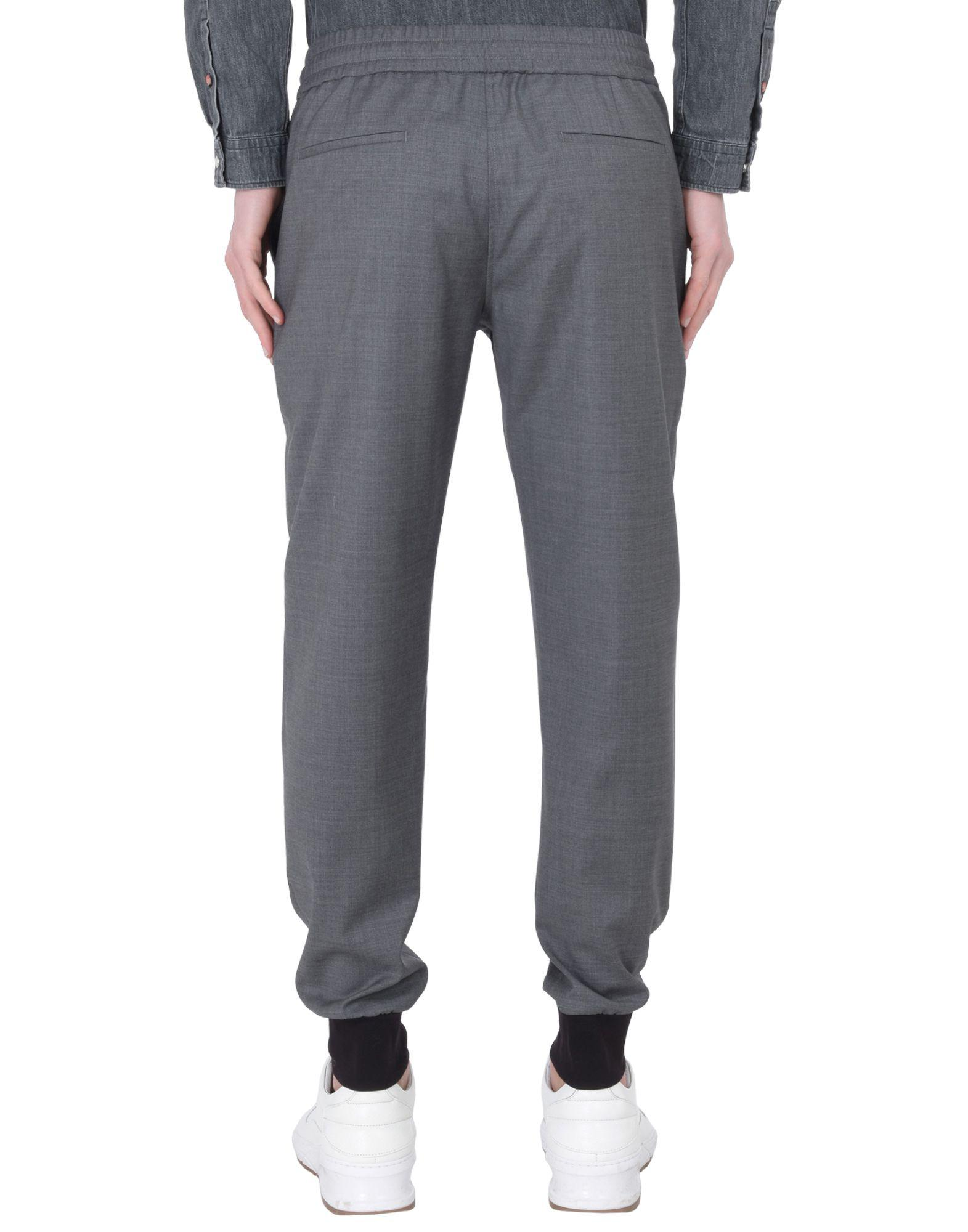 PS by Paul Smith Wool Casual Trouser in Grey (Grey) for Men