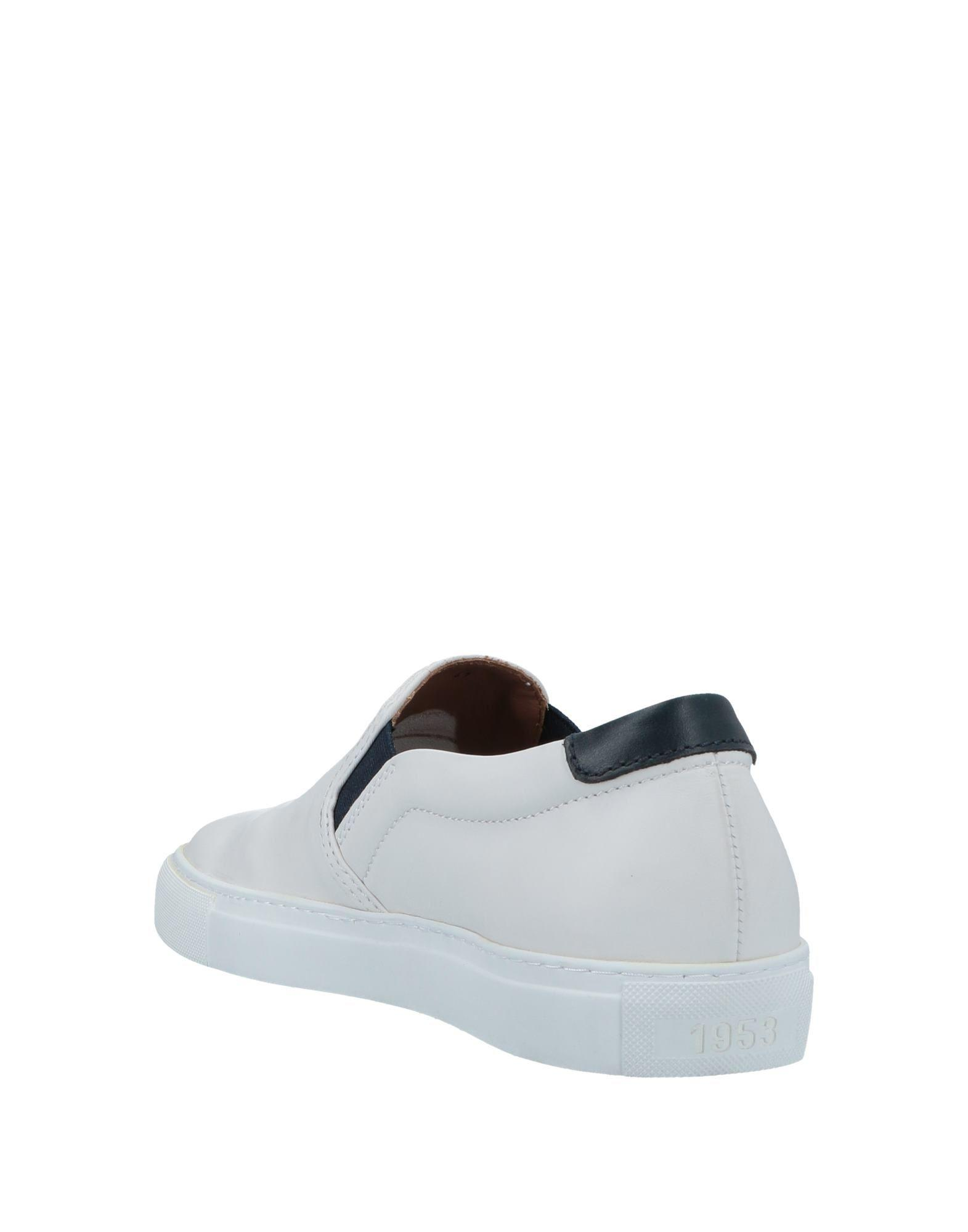 In Topsamp; For Minoronzoni White Sneakers Low Men Lyst N0nwm8v