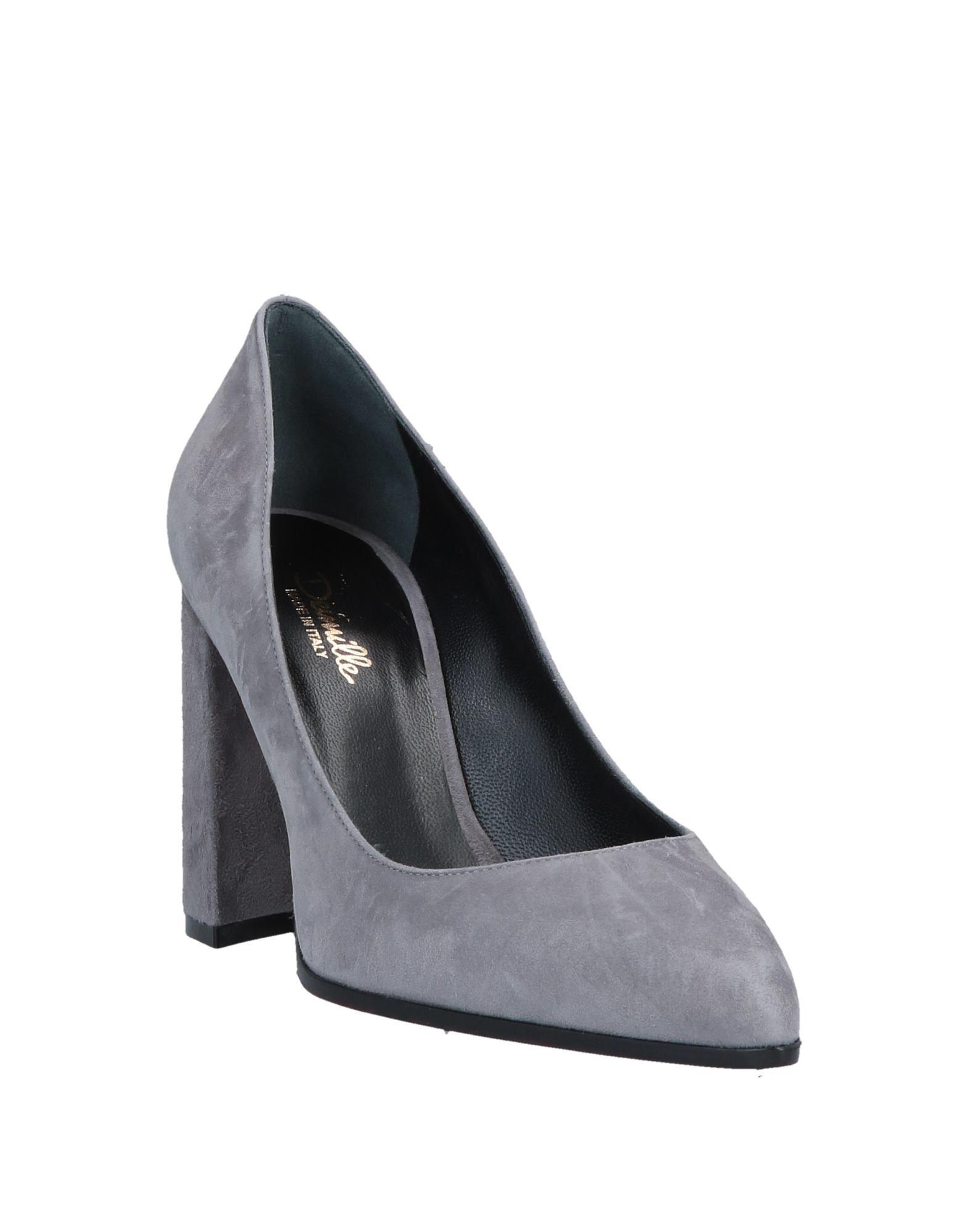 Zapatos de salón Deimille de Ante de color Gris