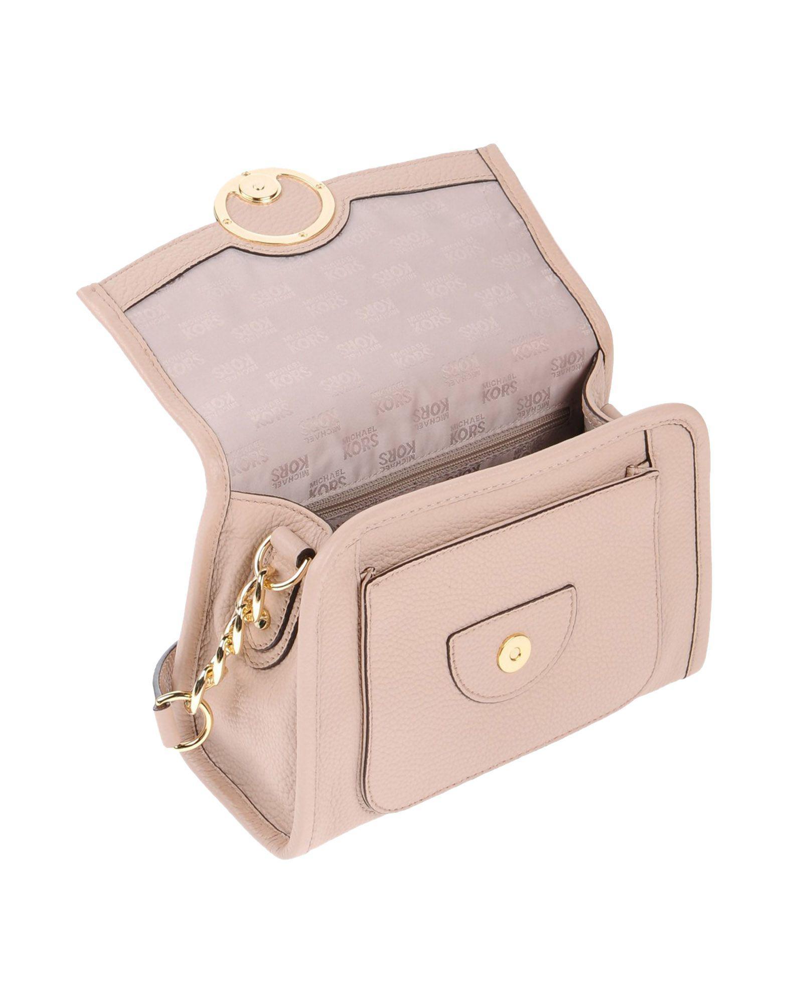 MICHAEL Michael Kors Leather Cross-body Bag in Pink